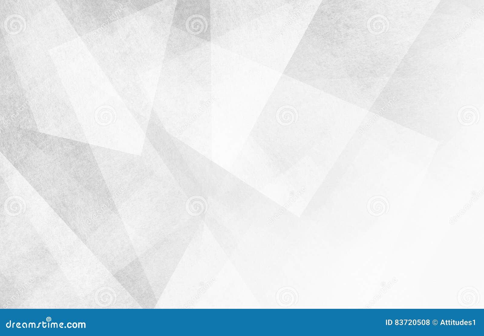 与抽象三角形状和角度的白色和灰色背景
