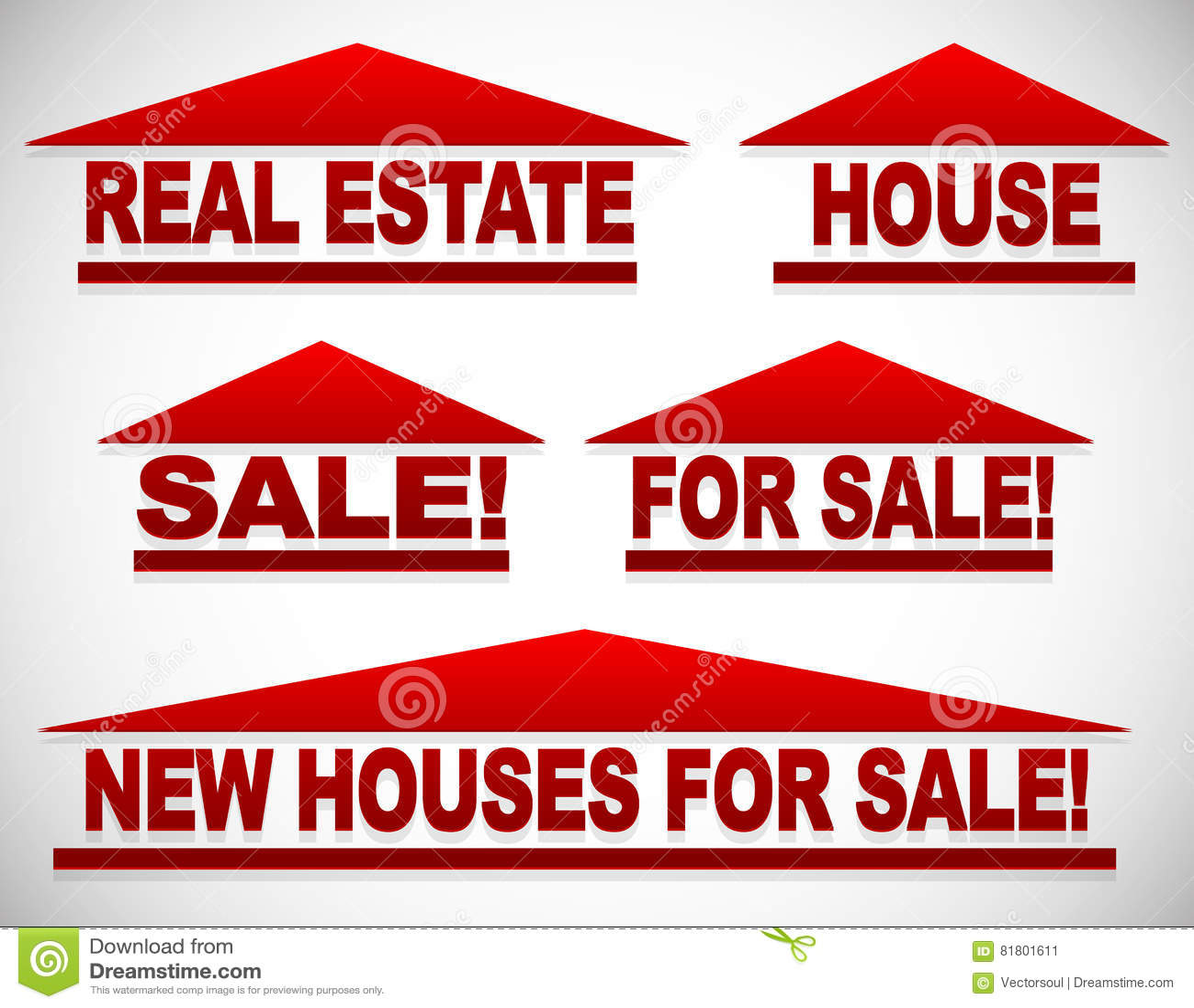 与文本的象房地产概念的-为销售签署房子