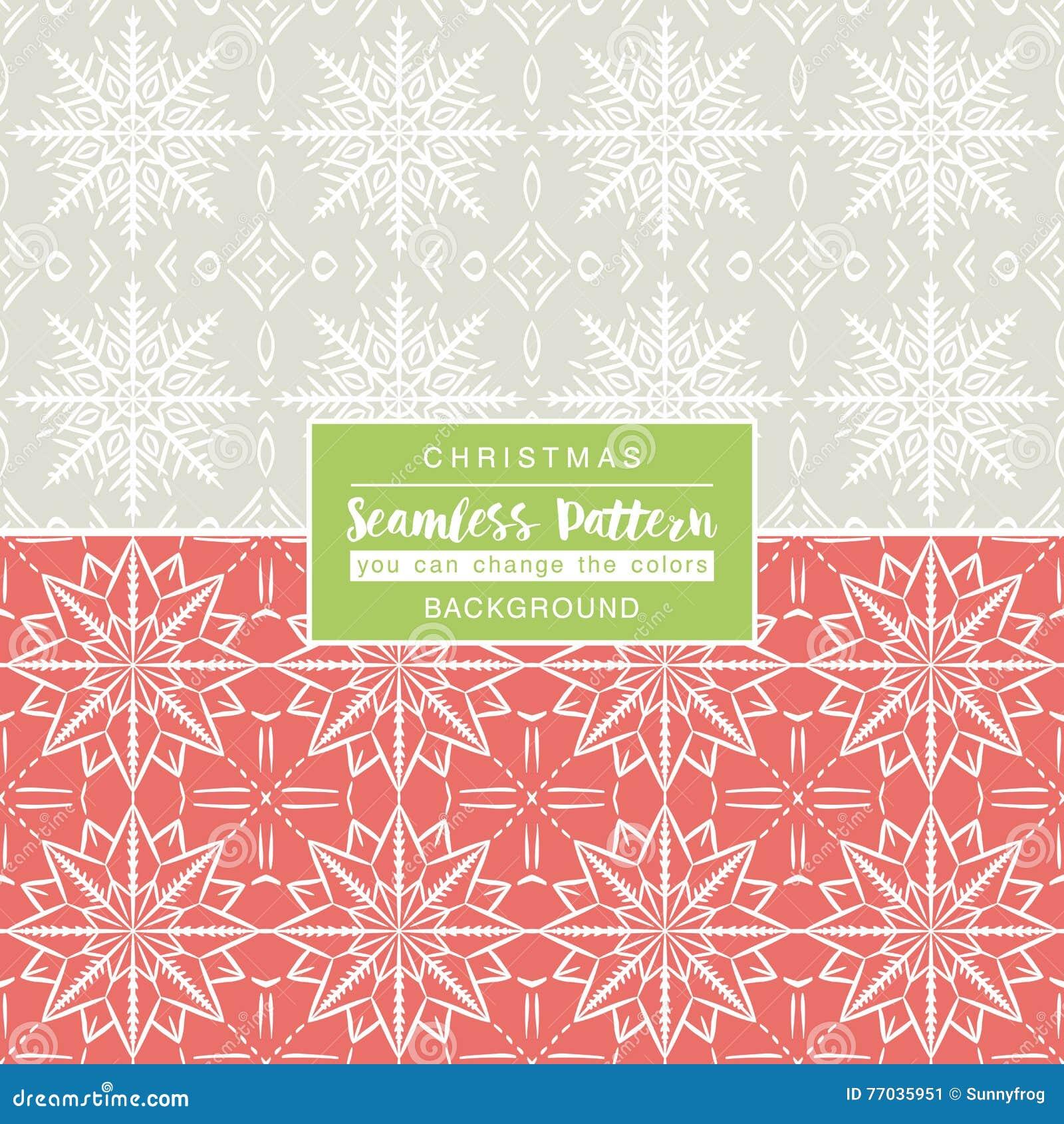 与无缝的样式的圣诞节背景 打印的理想
