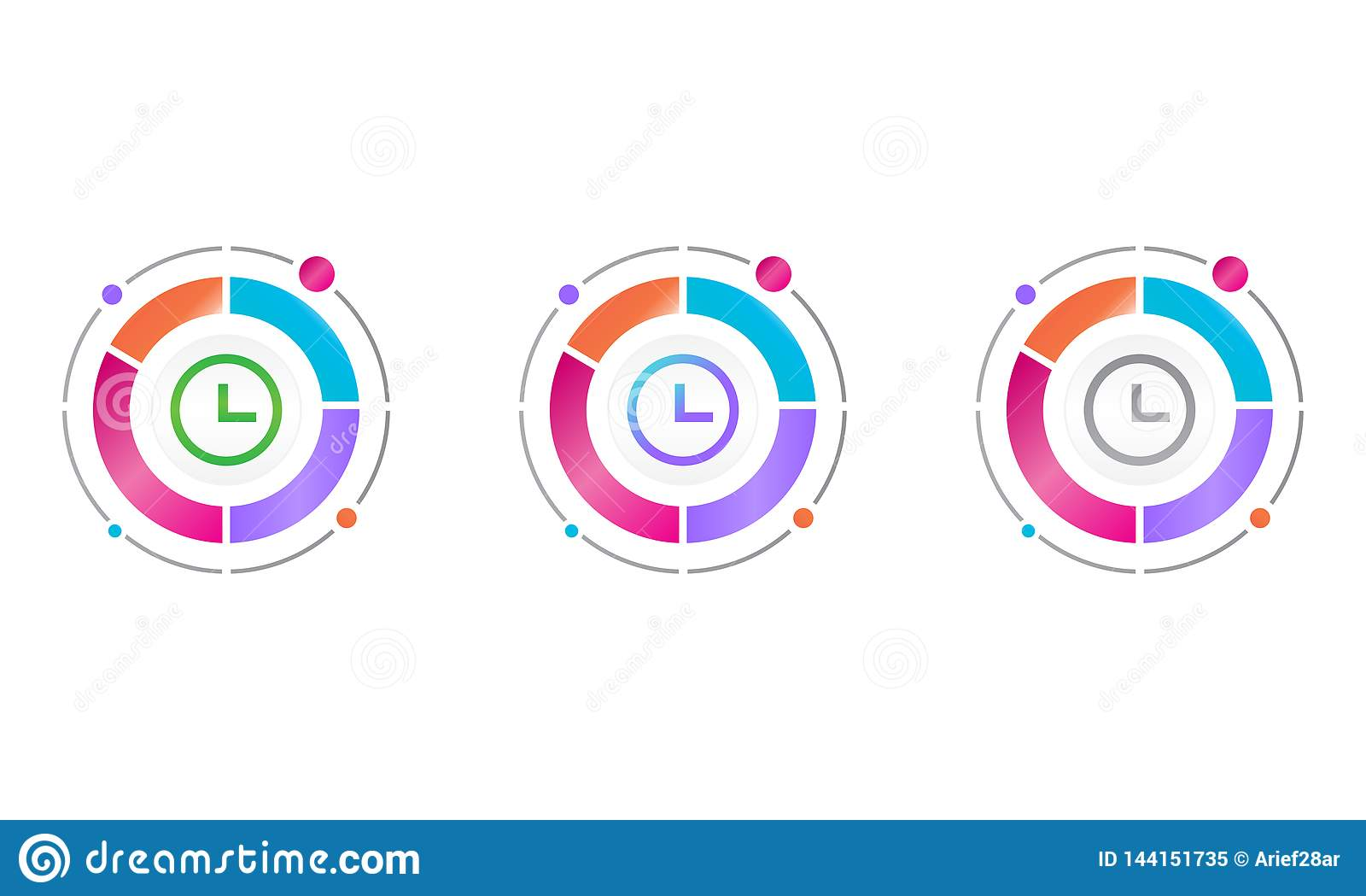 与时间象的圈子图 传染媒介象概念