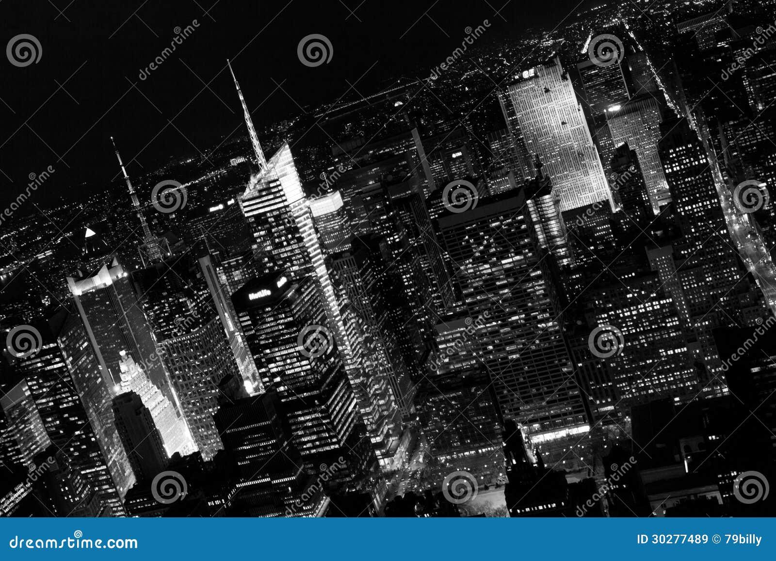 曼哈顿摩天大楼