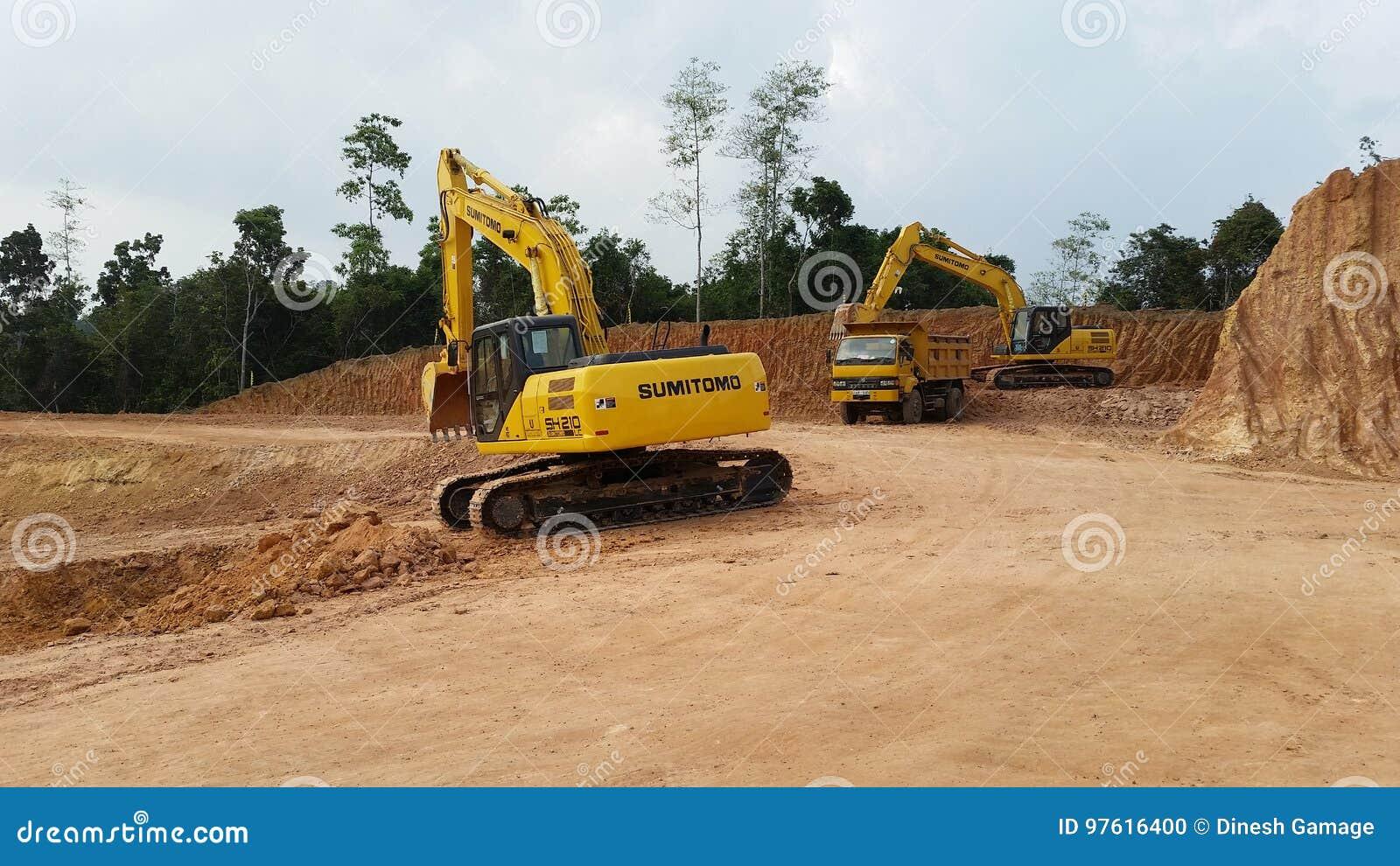 与机器的伐区