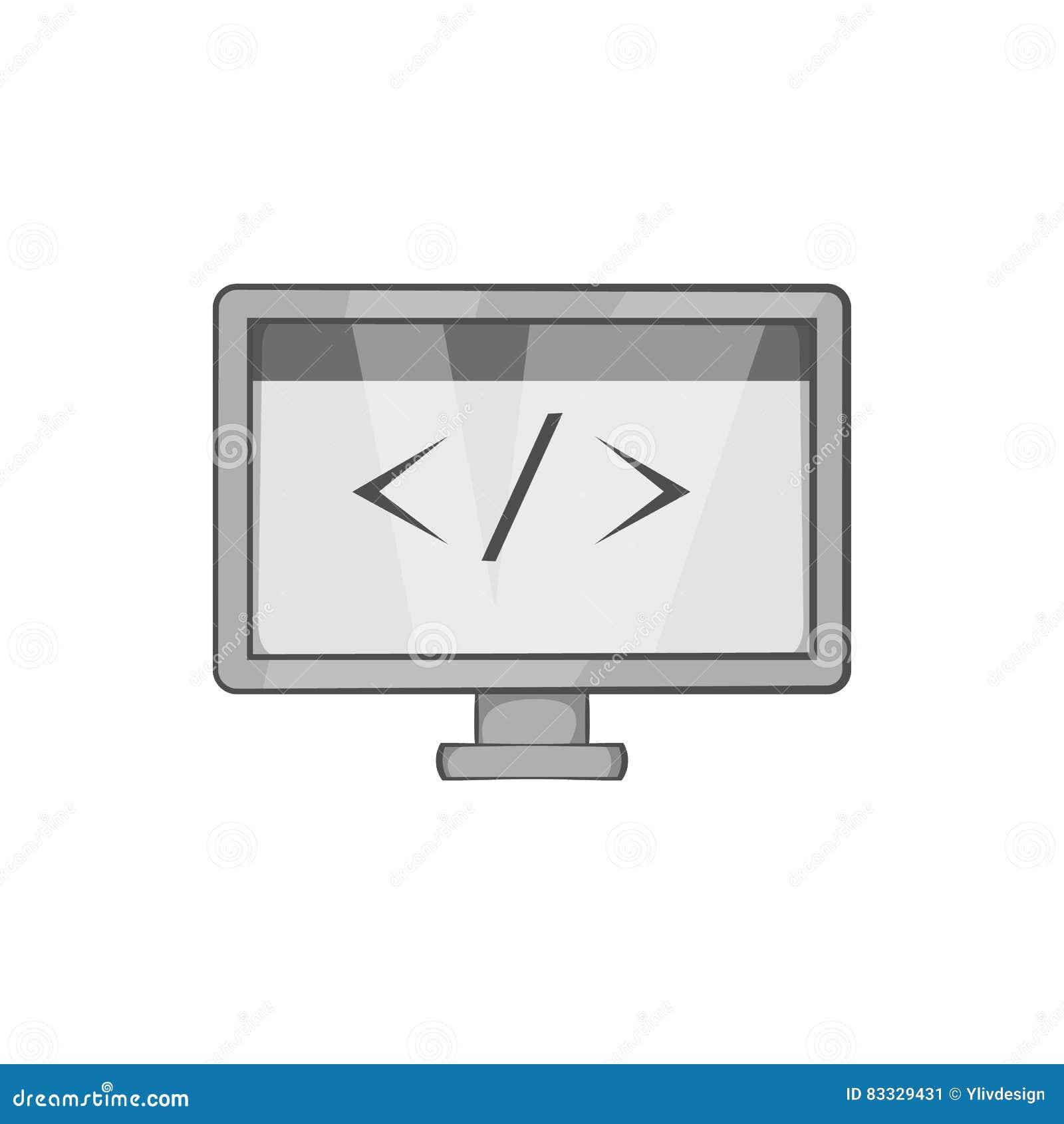 与标志左右象的显示器
