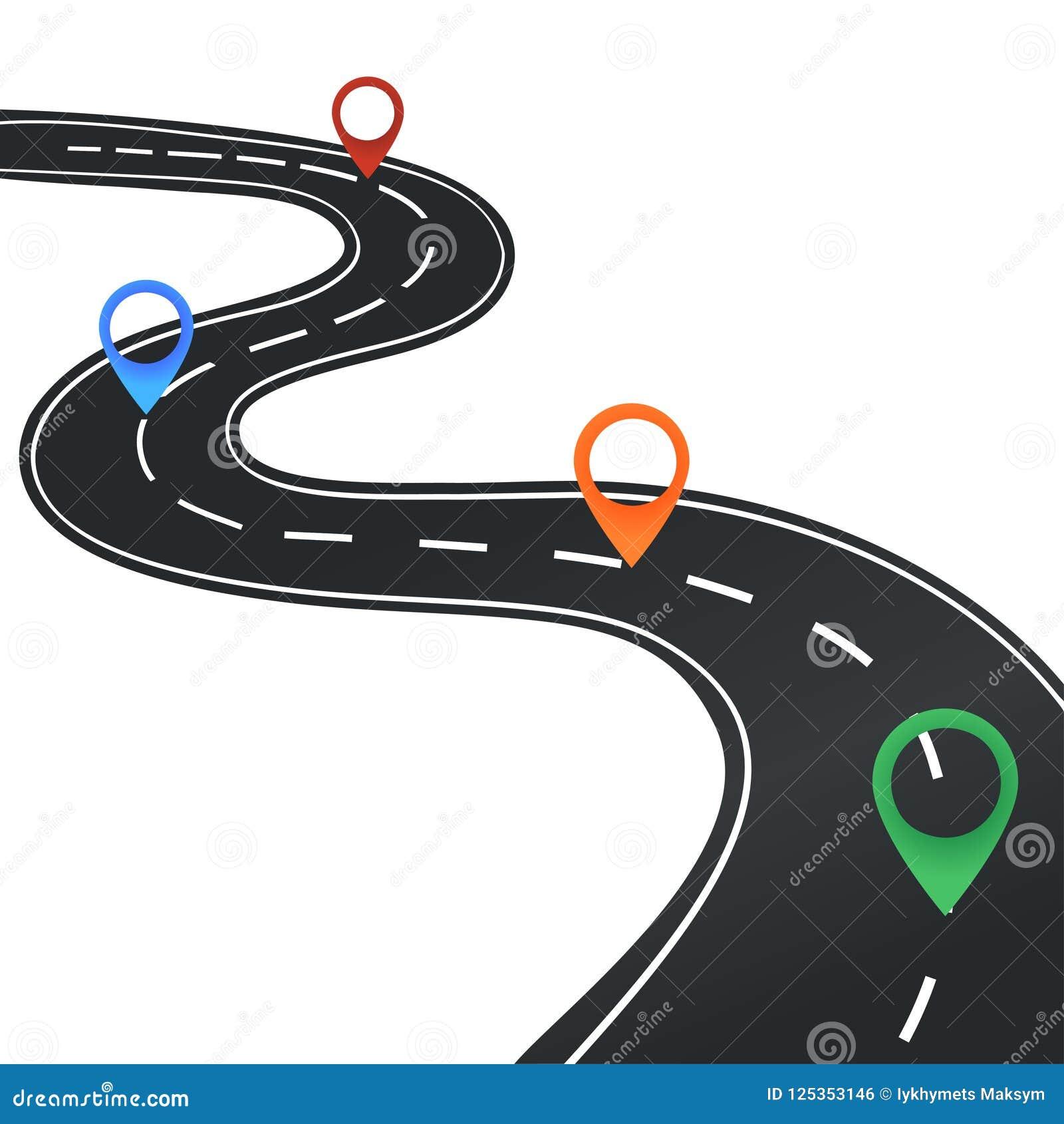 与标志的路线图