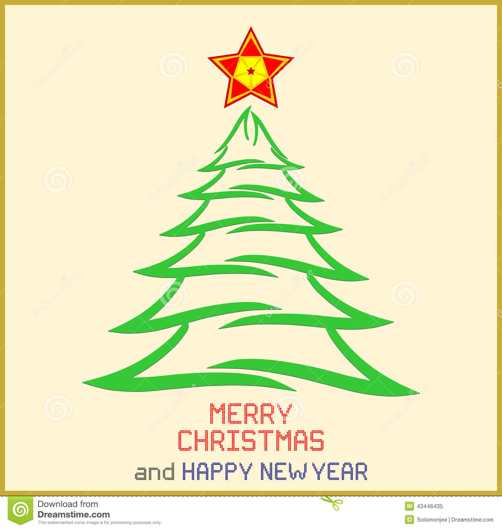 与树的圣诞节消息