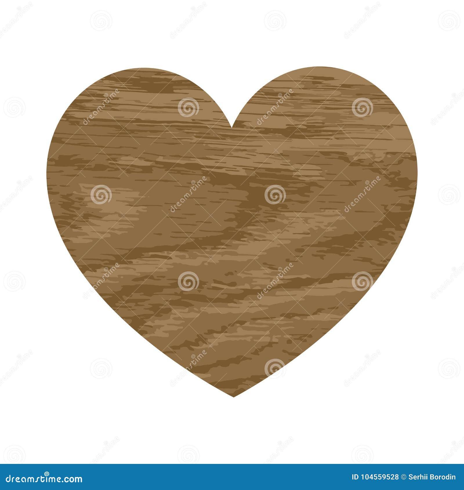 与橡木的木心脏