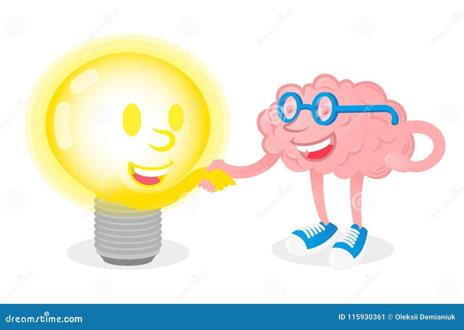 与灯的友谊脑子
