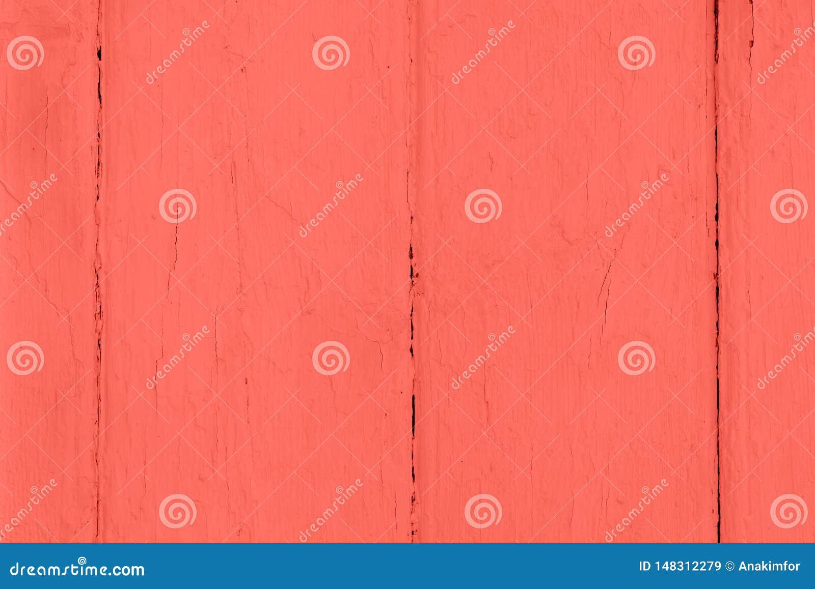 与片状油漆的老木被绘的表面
