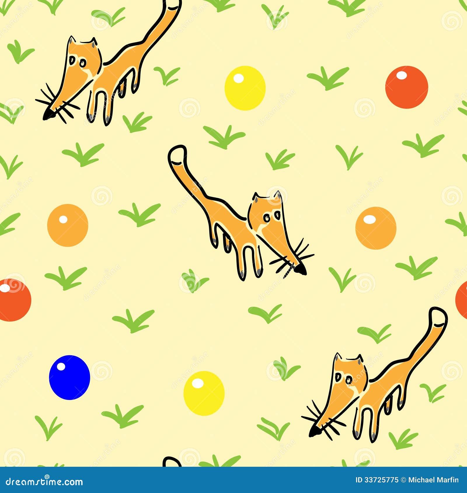 与狐狸的无缝的样式