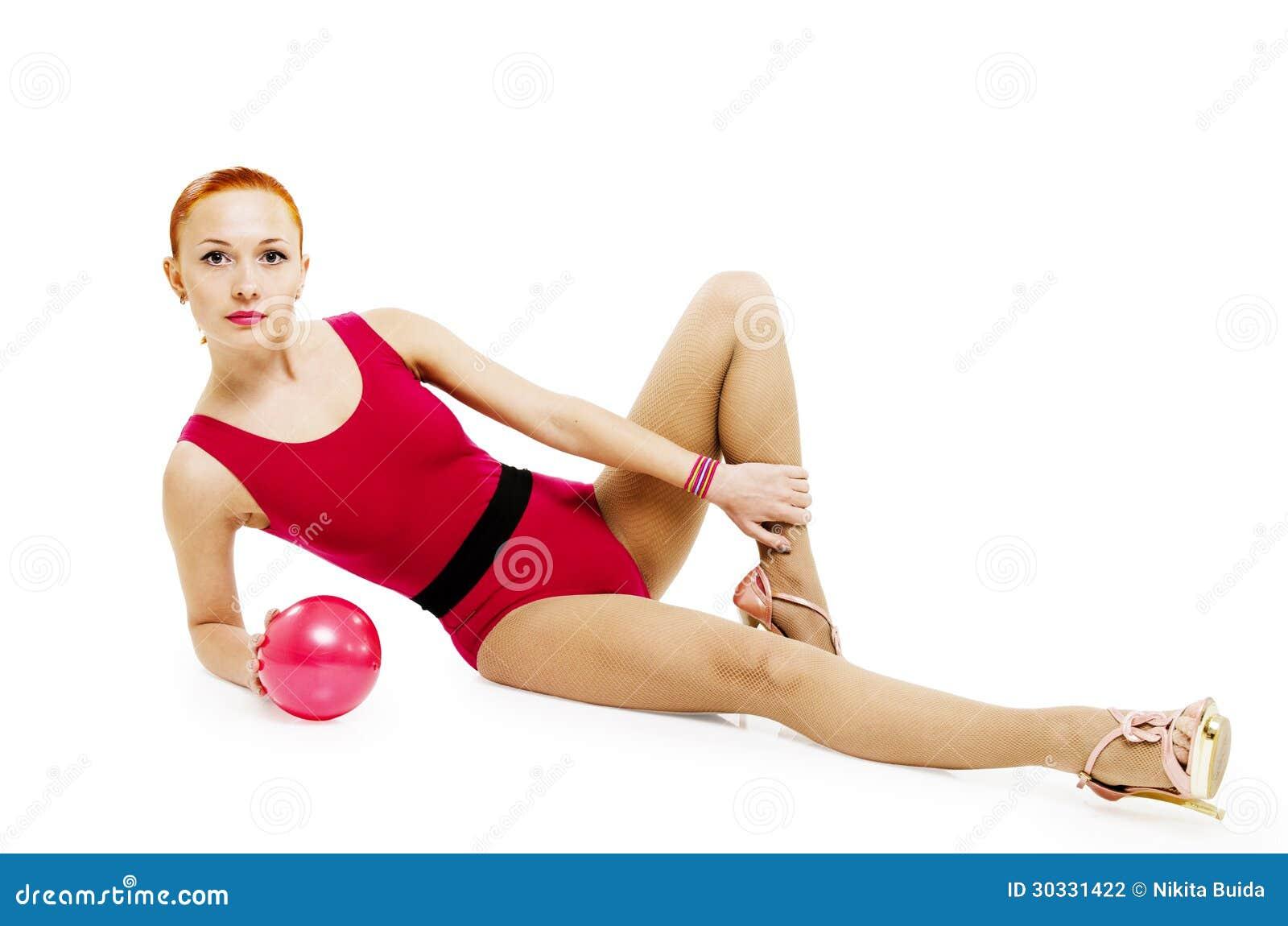 与球的健身模型