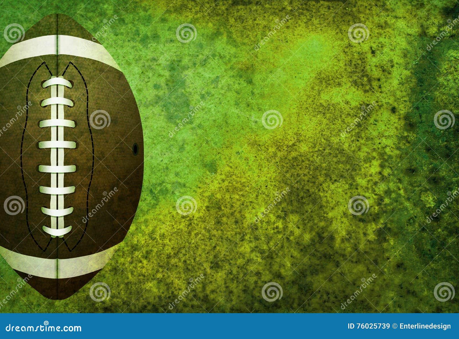 与球的织地不很细橄榄球领域背景
