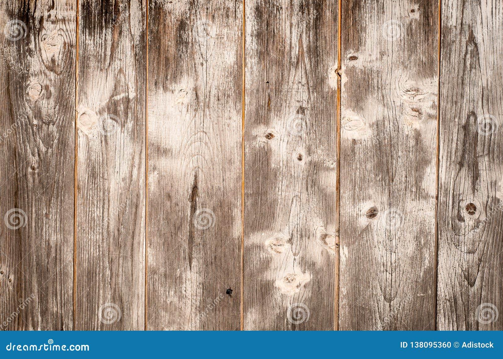 与白色油漆的老木板条纹理