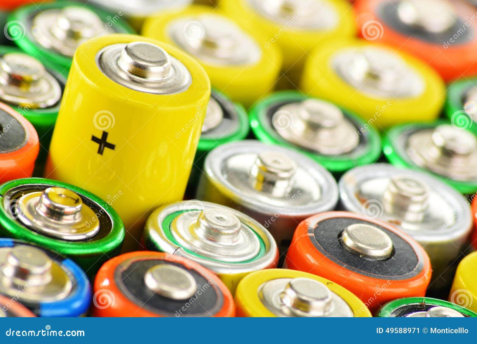 与碱性电池的构成 化学制品废物