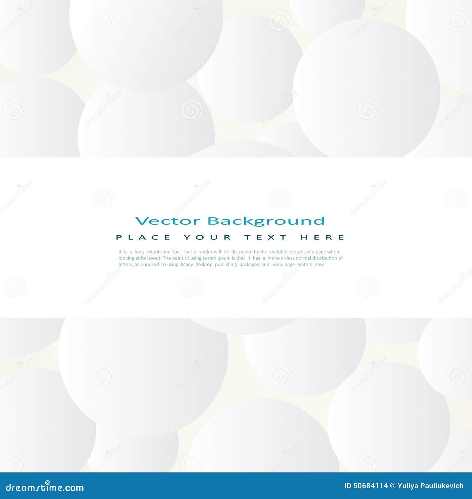 Download 与简单的白色圈子的背景 向量例证. 插画 包括有 装饰, 盖子, 总公司, 圈子, 卵形, 商业, 要素 - 50684114