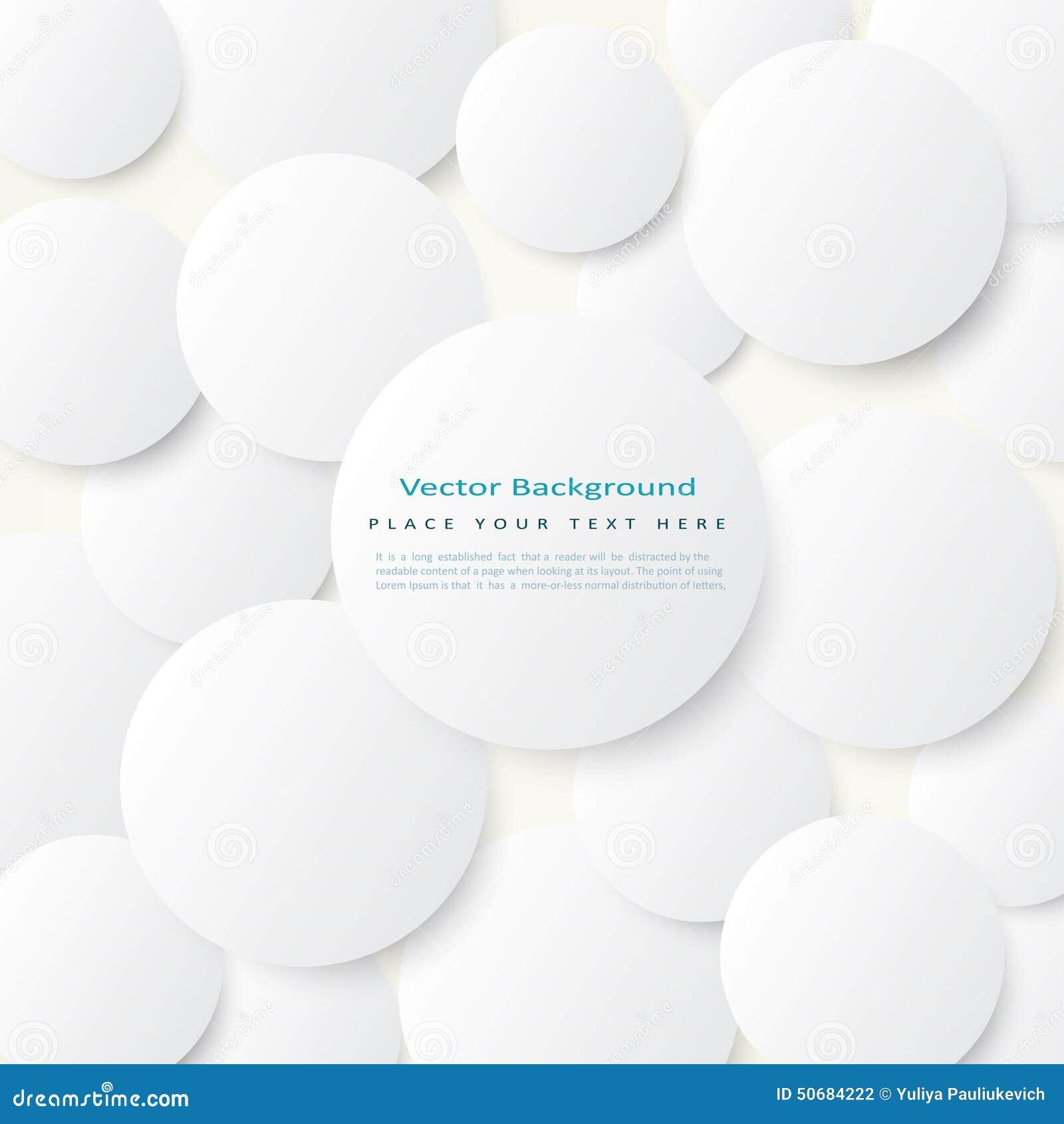 Download 与简单的白色圈子的背景 向量例证. 插画 包括有 框架, 重叠, 高雅, 抽象, 建筑, 椭圆, 商业, 盖子 - 50684222