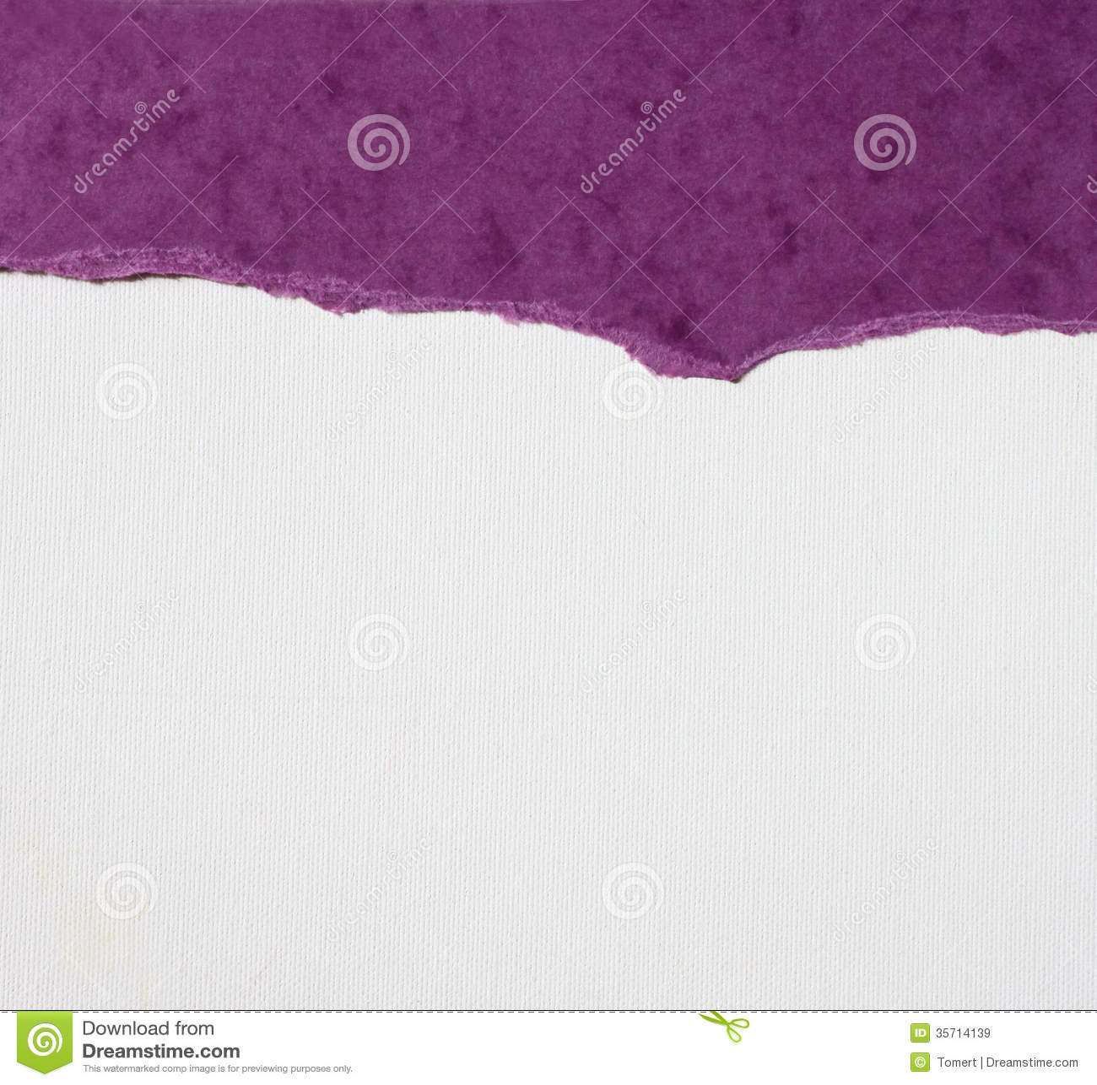 与精美条纹样式和紫色葡萄酒被撕毁的纸的老帆布纹理背景