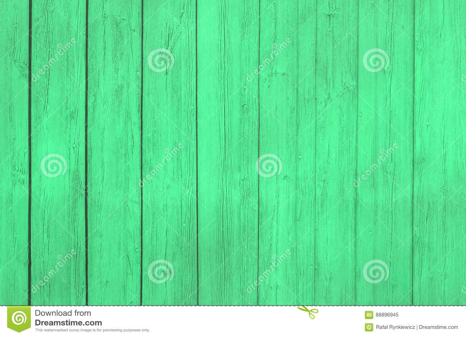 与自然样式的老绿色木纹理
