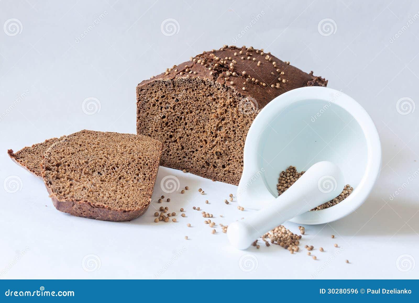 传统俄国黑面包