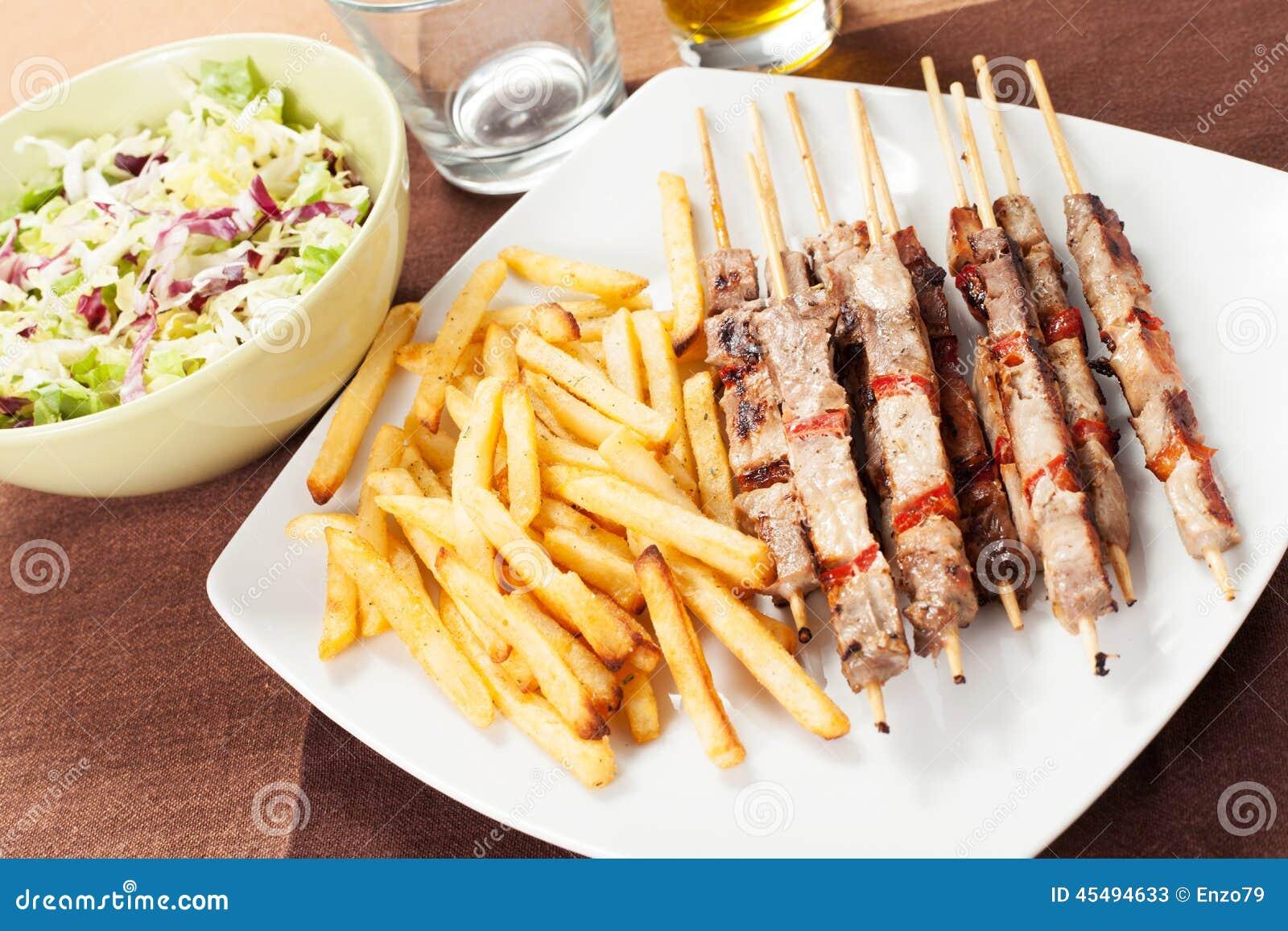 与芯片的Kebabs