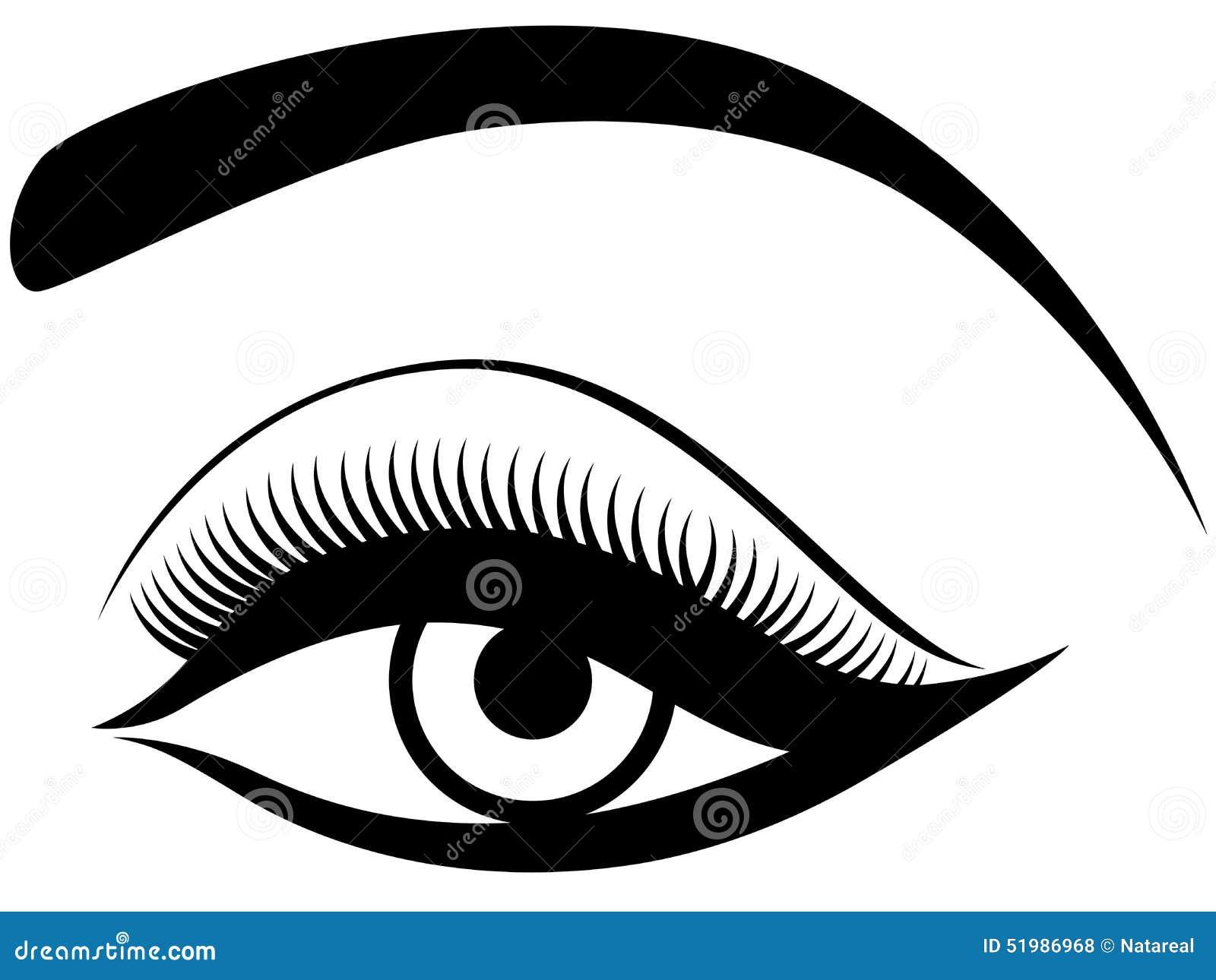 与蓬松眼皮的眼睛