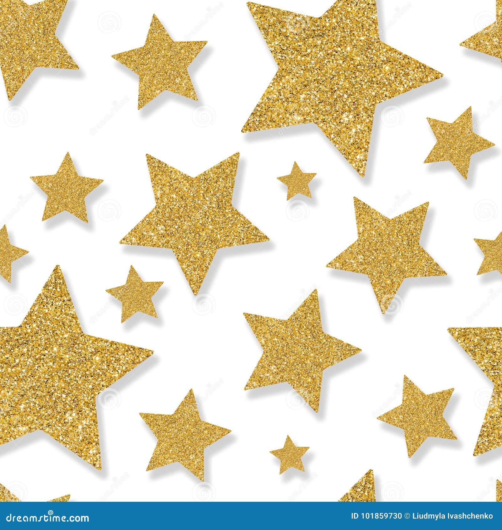 与衣服饰物之小金属片五彩纸屑金星的无缝的样式  闪烁战俘