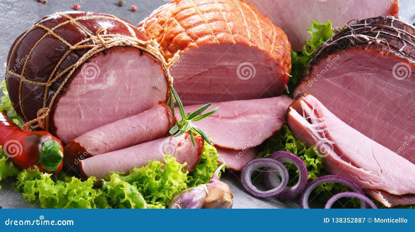 与被分类的肉制品的构成