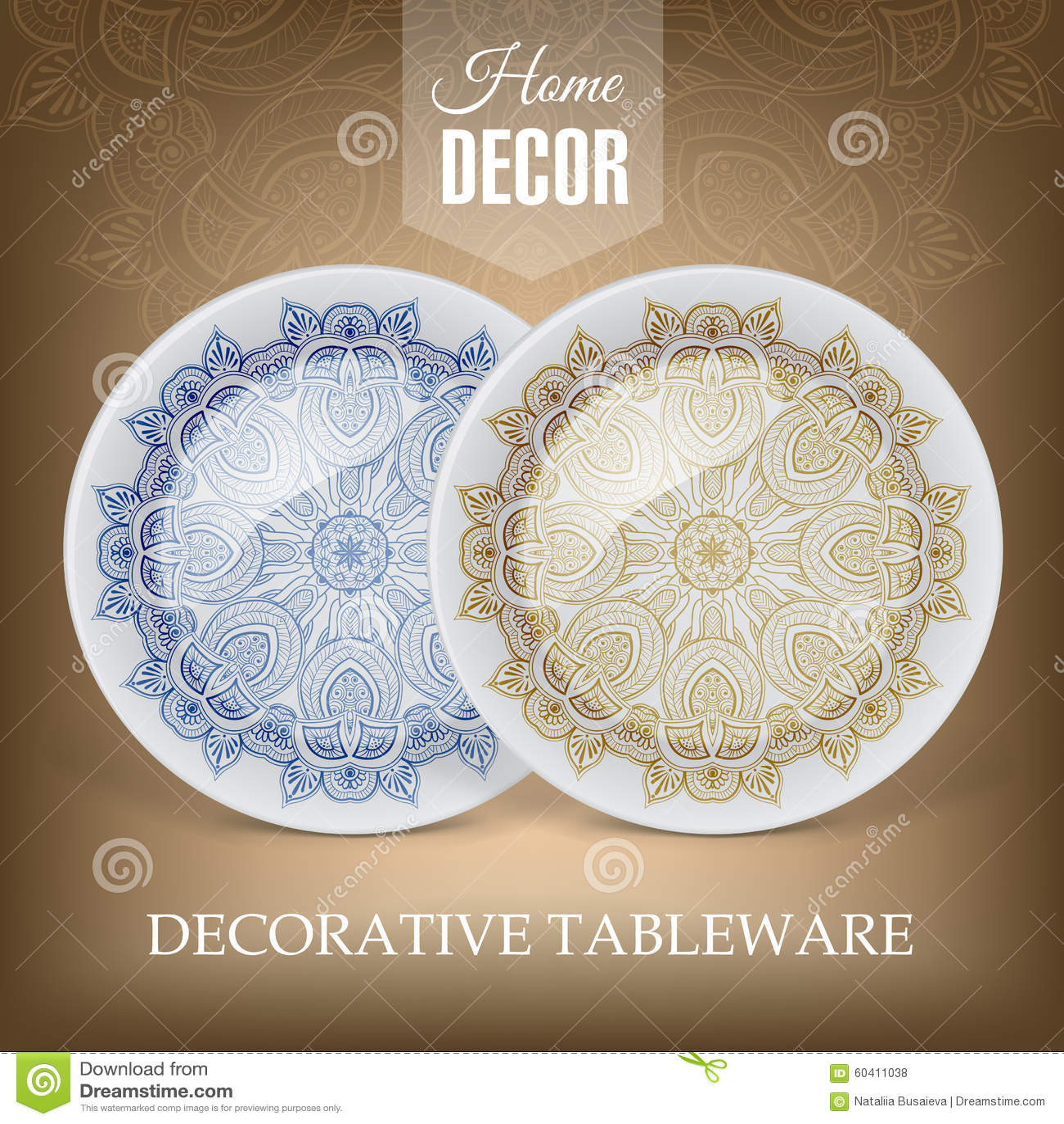 与装饰陶瓷碗筷的广告横幅