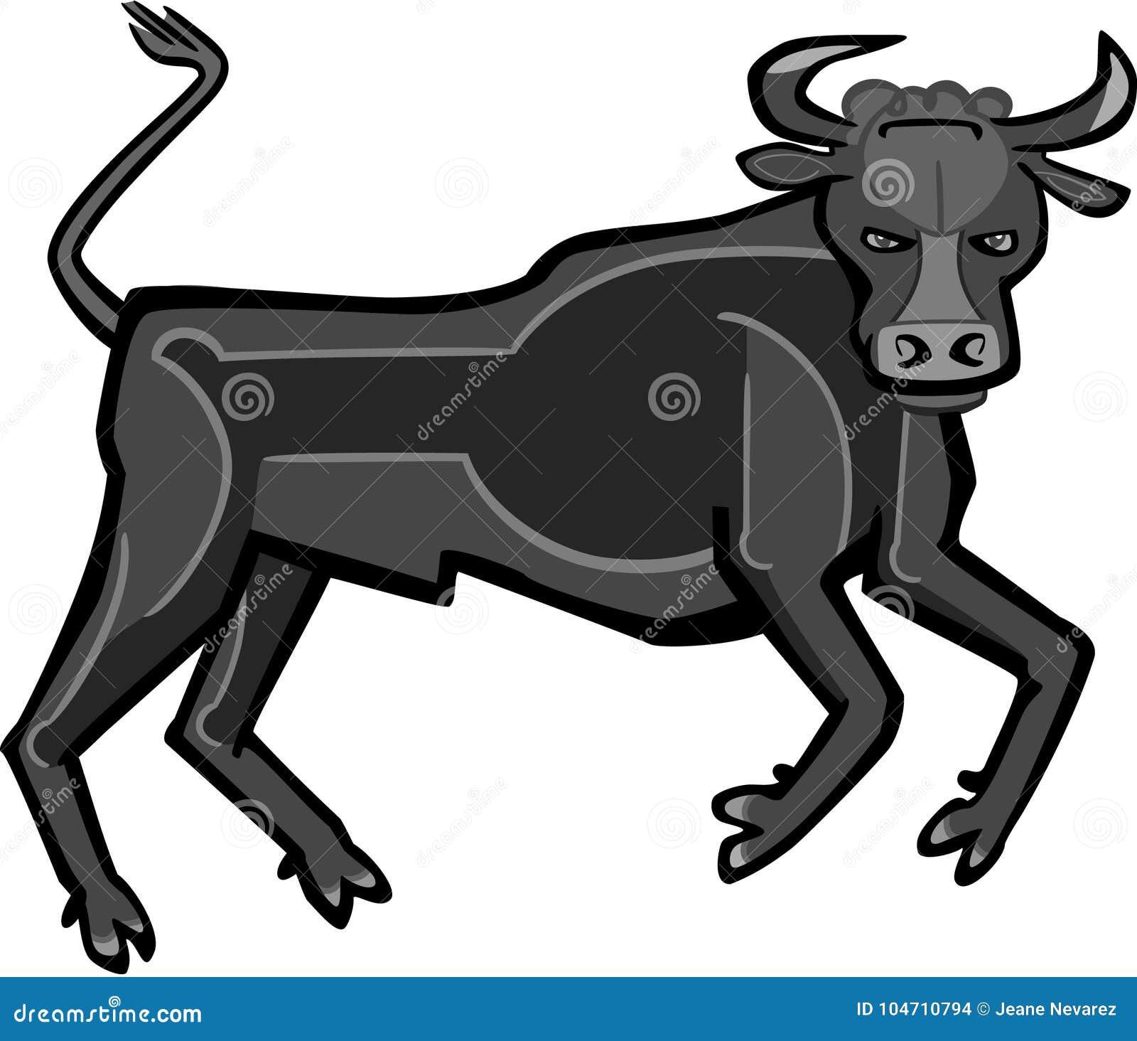 与设计的公牛