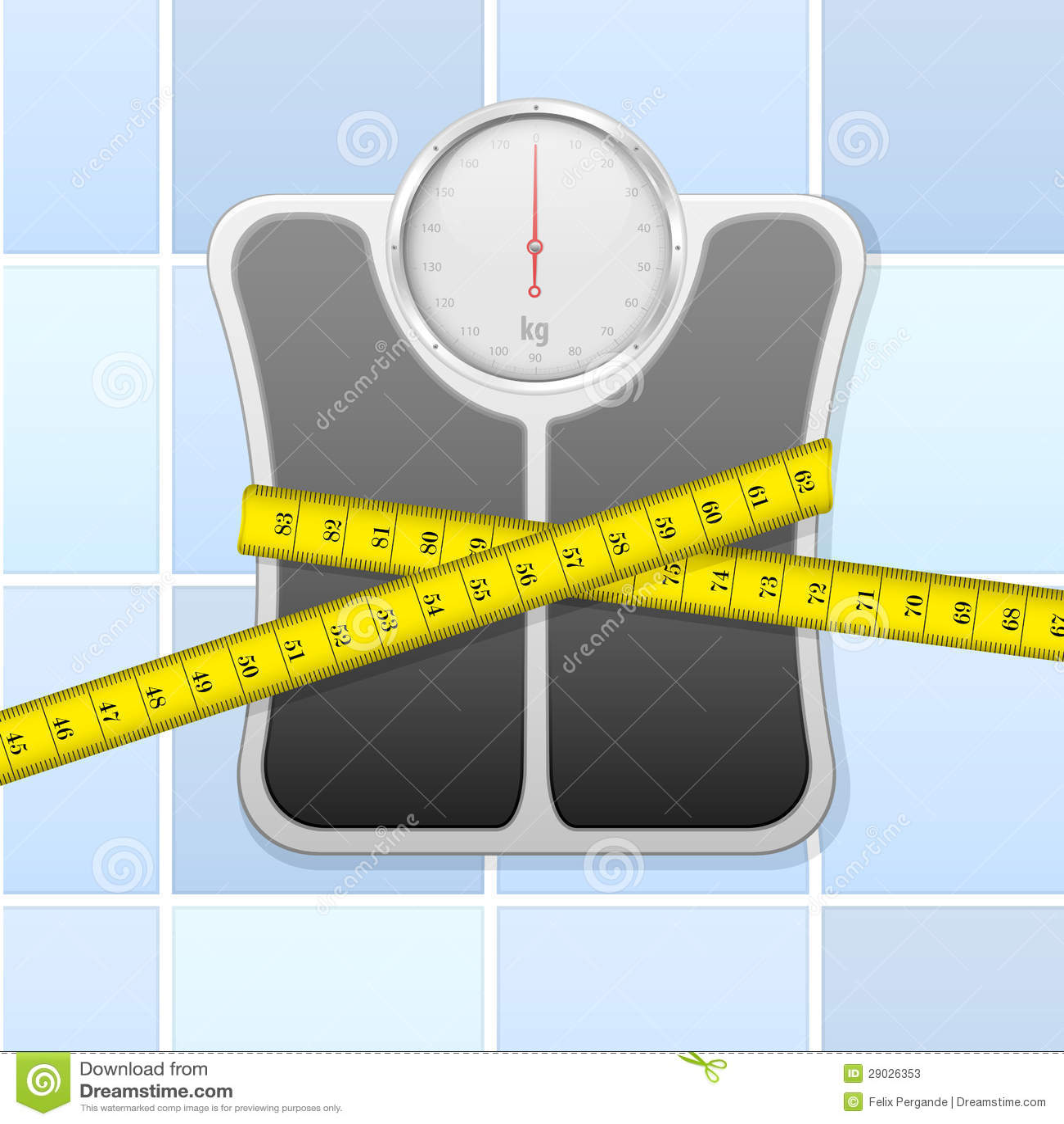 与评定磁带的体重计