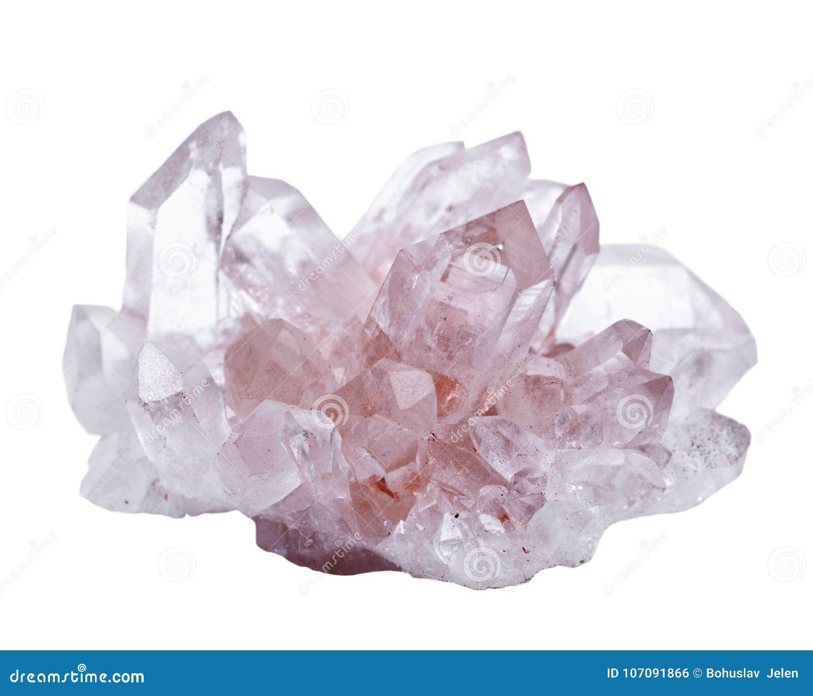 与赤铁矿包括的喜马拉雅清楚的石英群