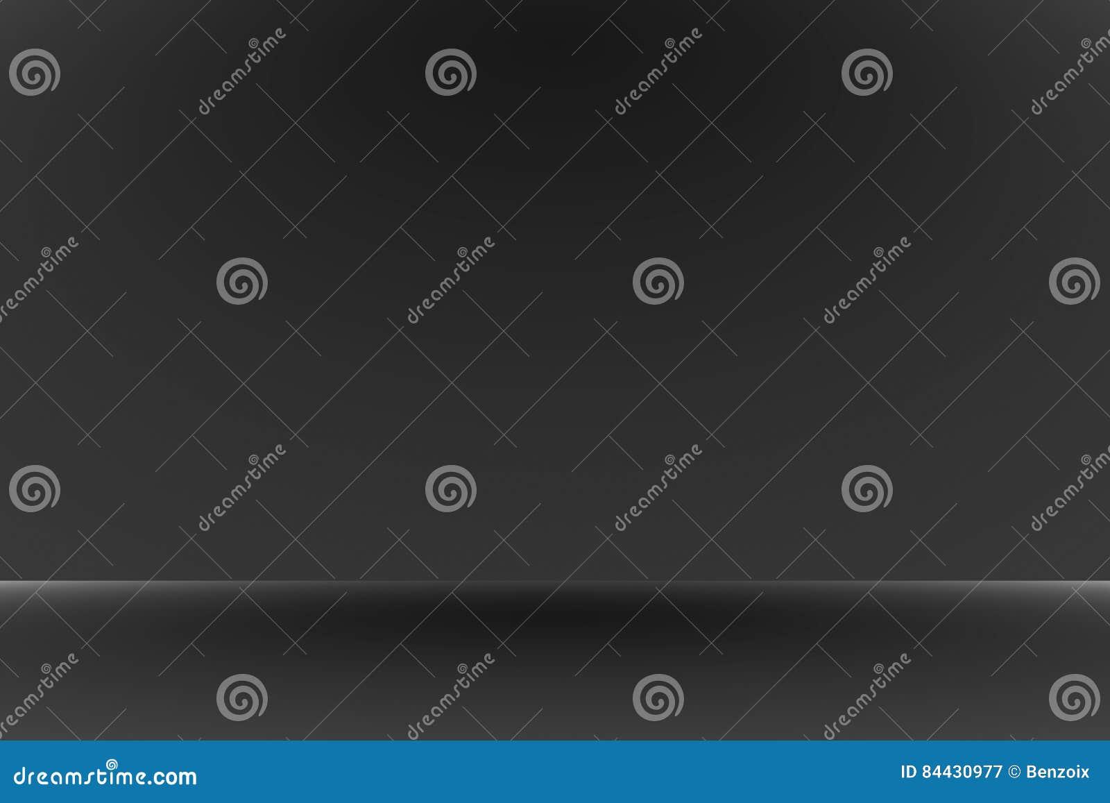 与边界黑色小插图背景演播室背景-作为哼声背景的好的用途的抽象豪华黑梯度,