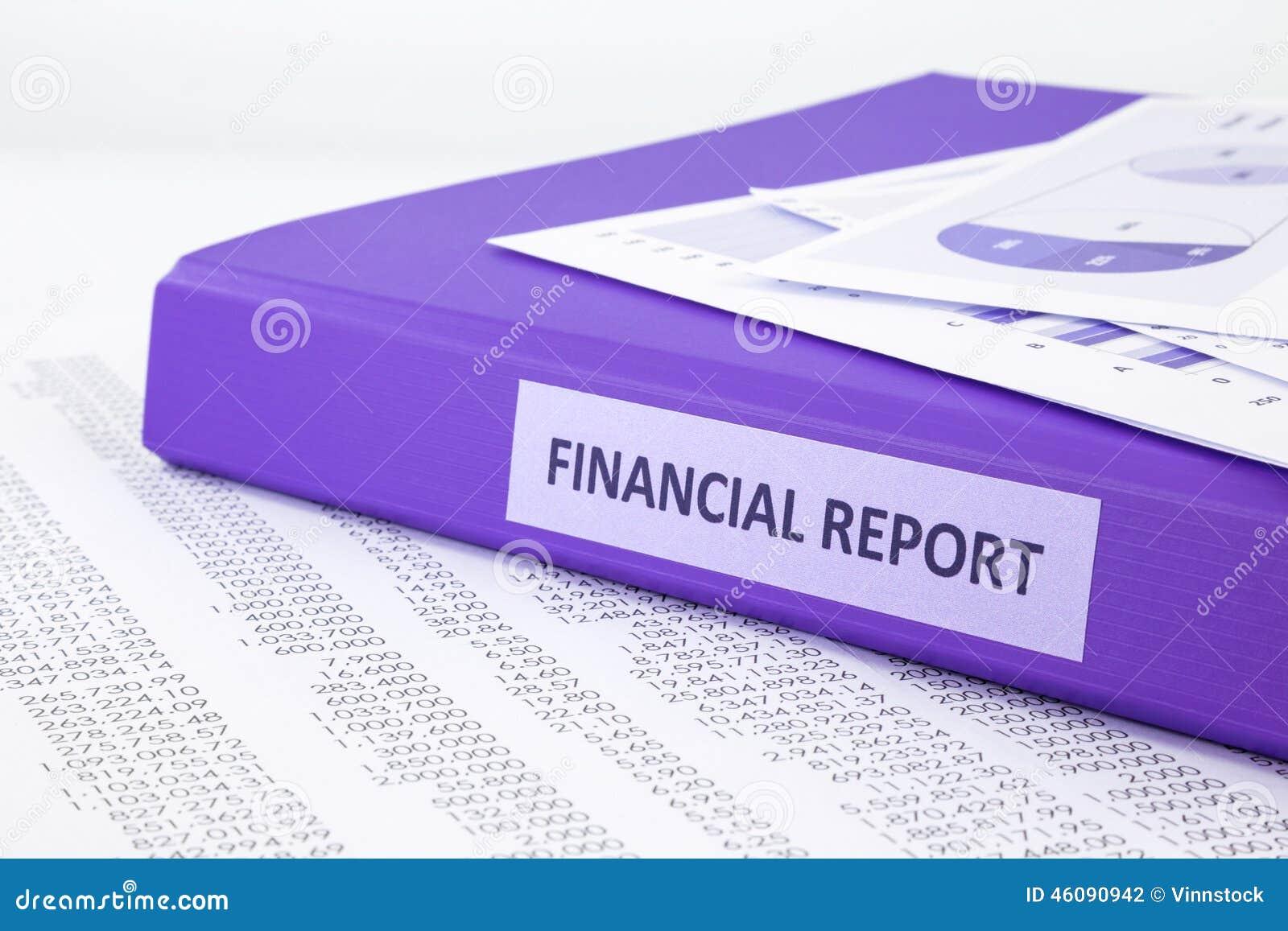 与销售和购买声明的财务会计报告