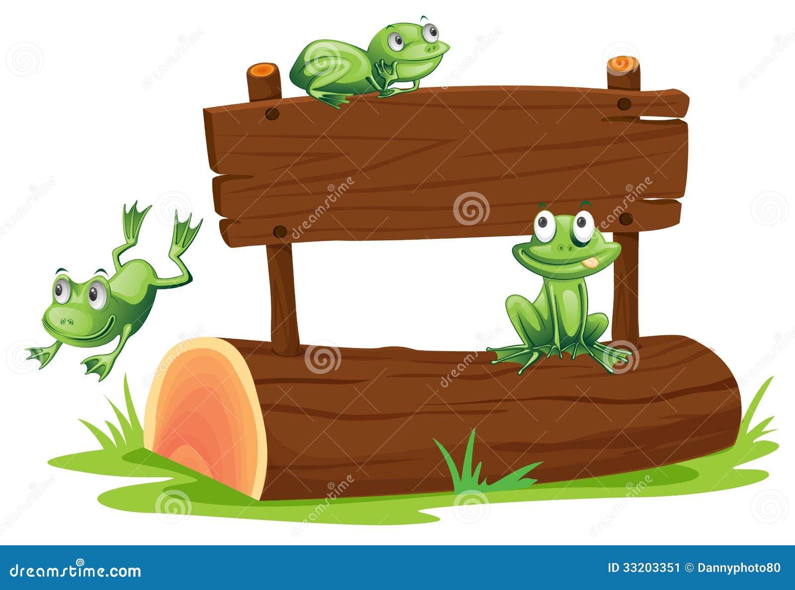 与青蛙的标志
