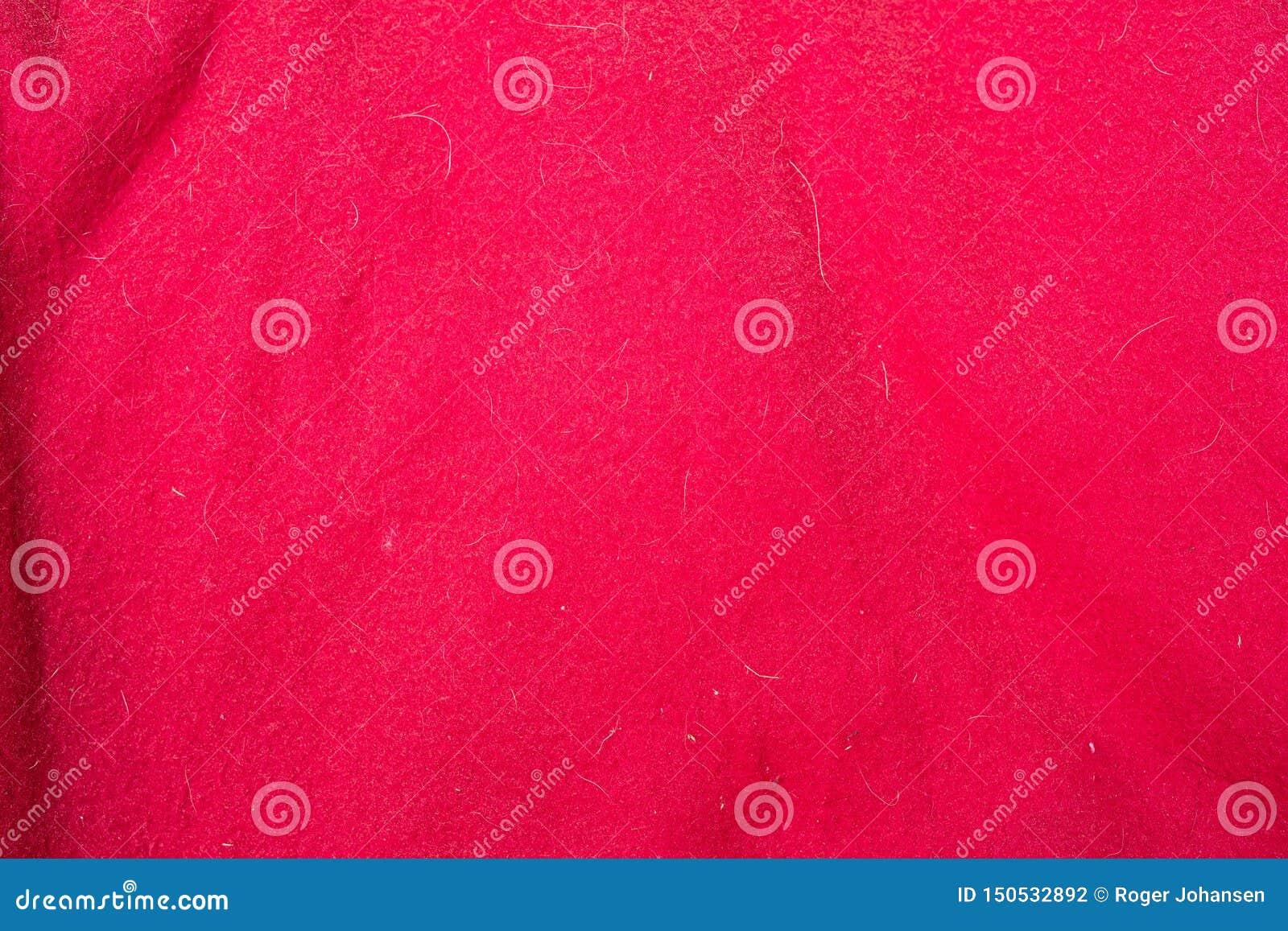 与doghair和斑点的红色织品纹理