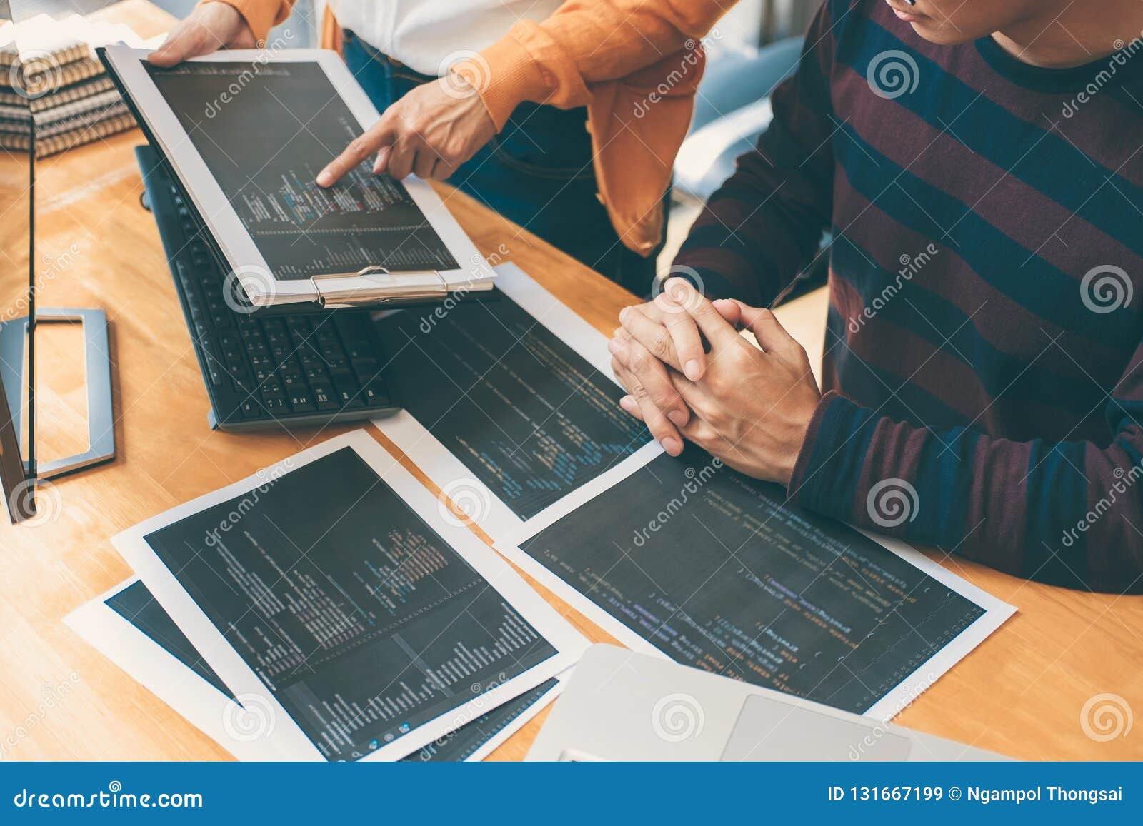 专业发展程序员合作的运作在软件和编码的会议和群策群力的和编程的网站