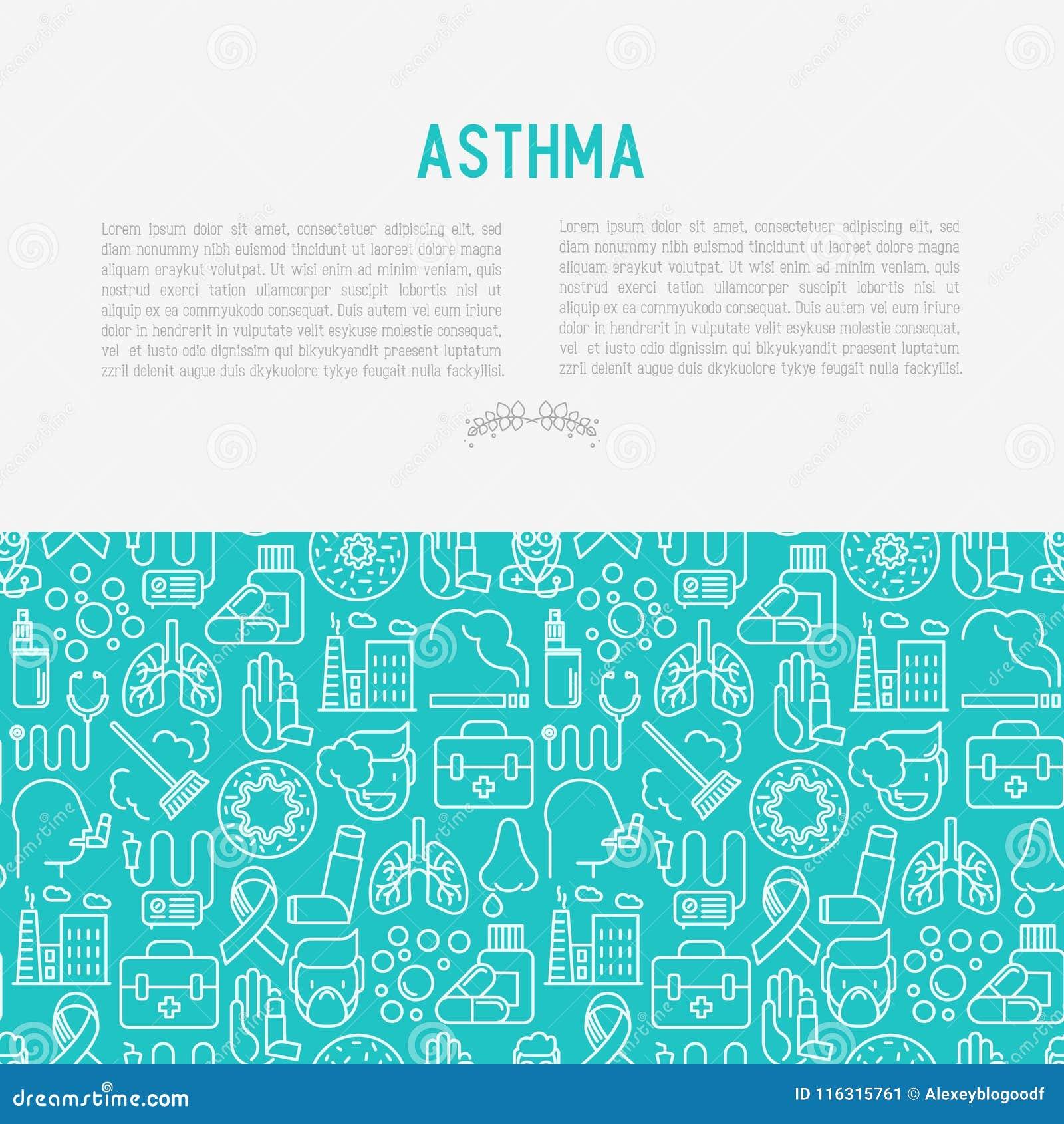 世界哮喘与稀薄的线象的天概念