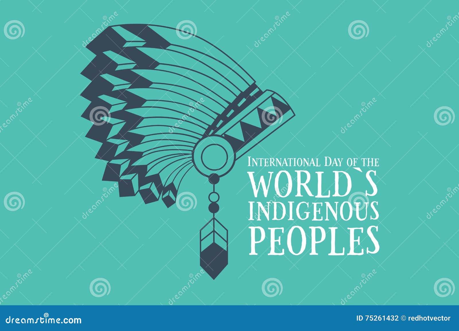 世界土著人民的国际天