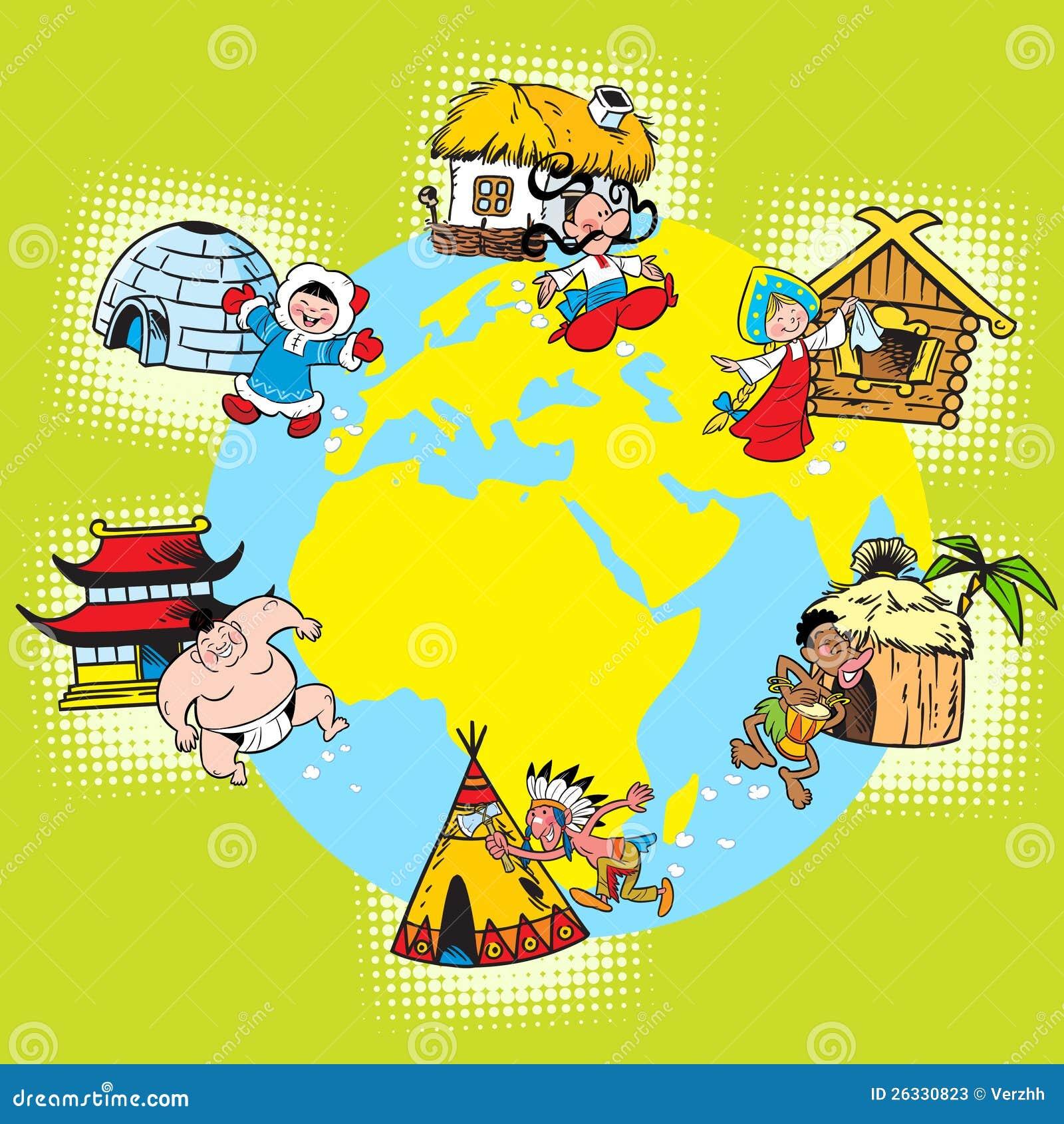 世界的种族和国家