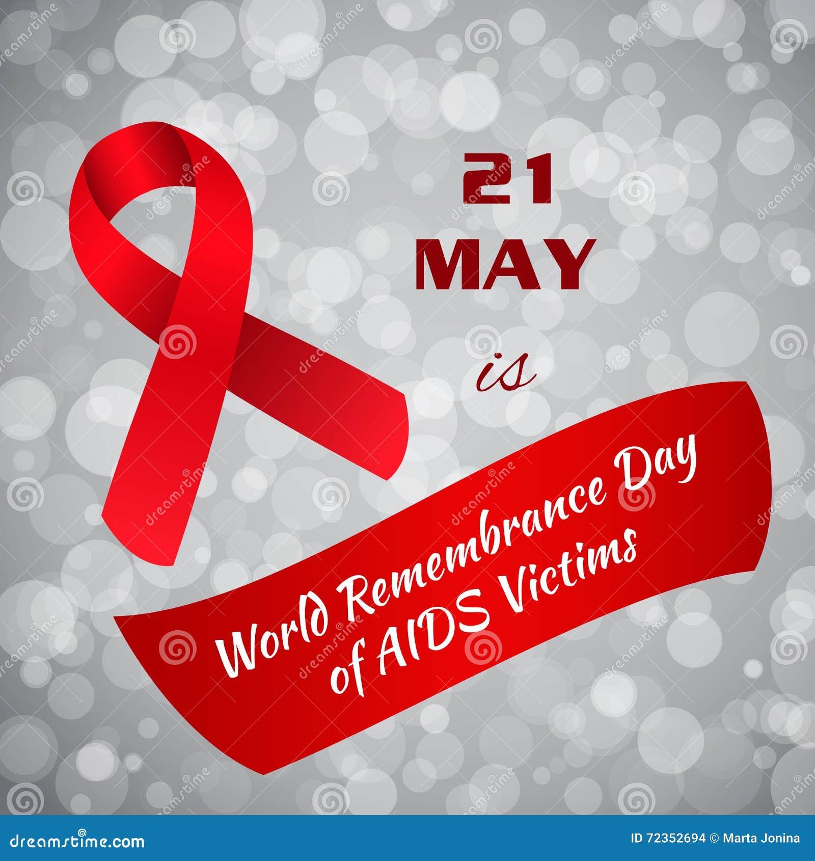 世界记忆天艾滋病受害者