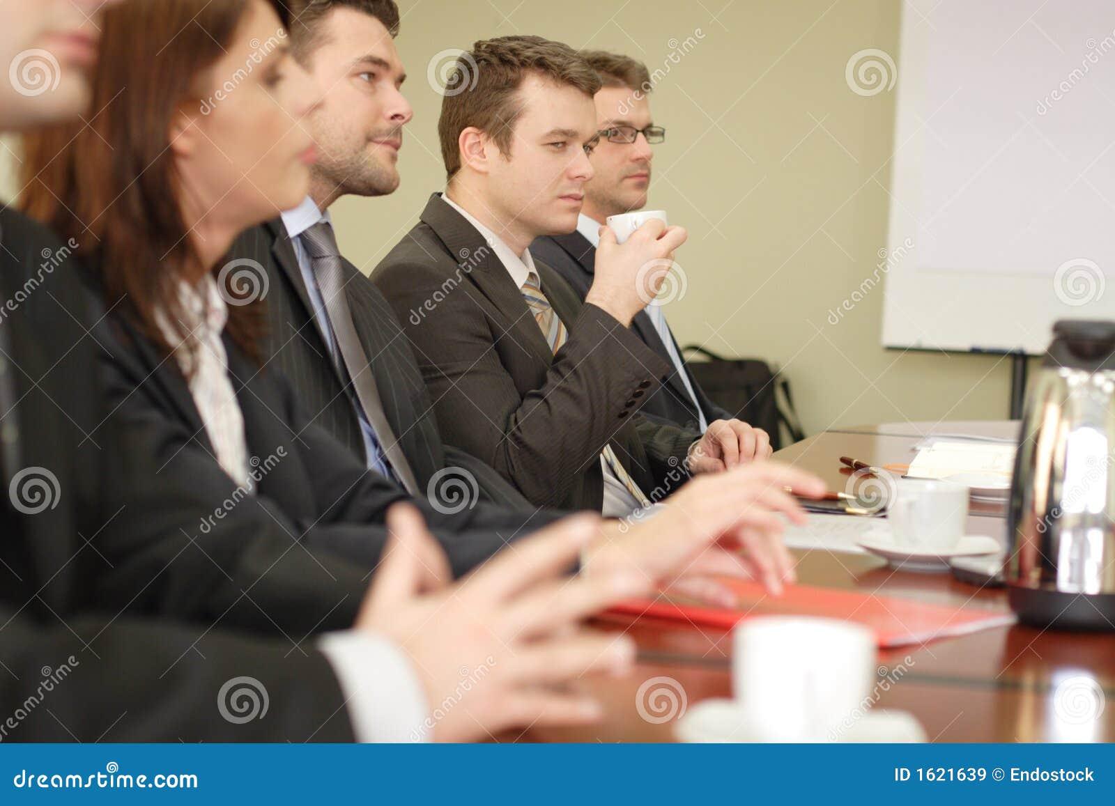 业务会议五组人