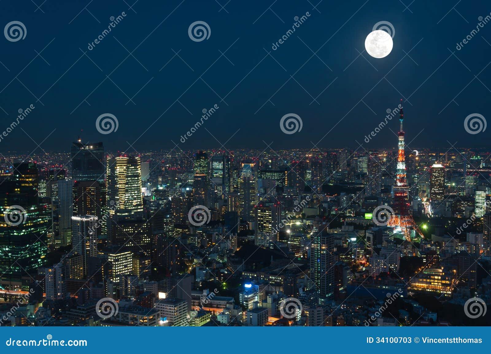 东京都市风景