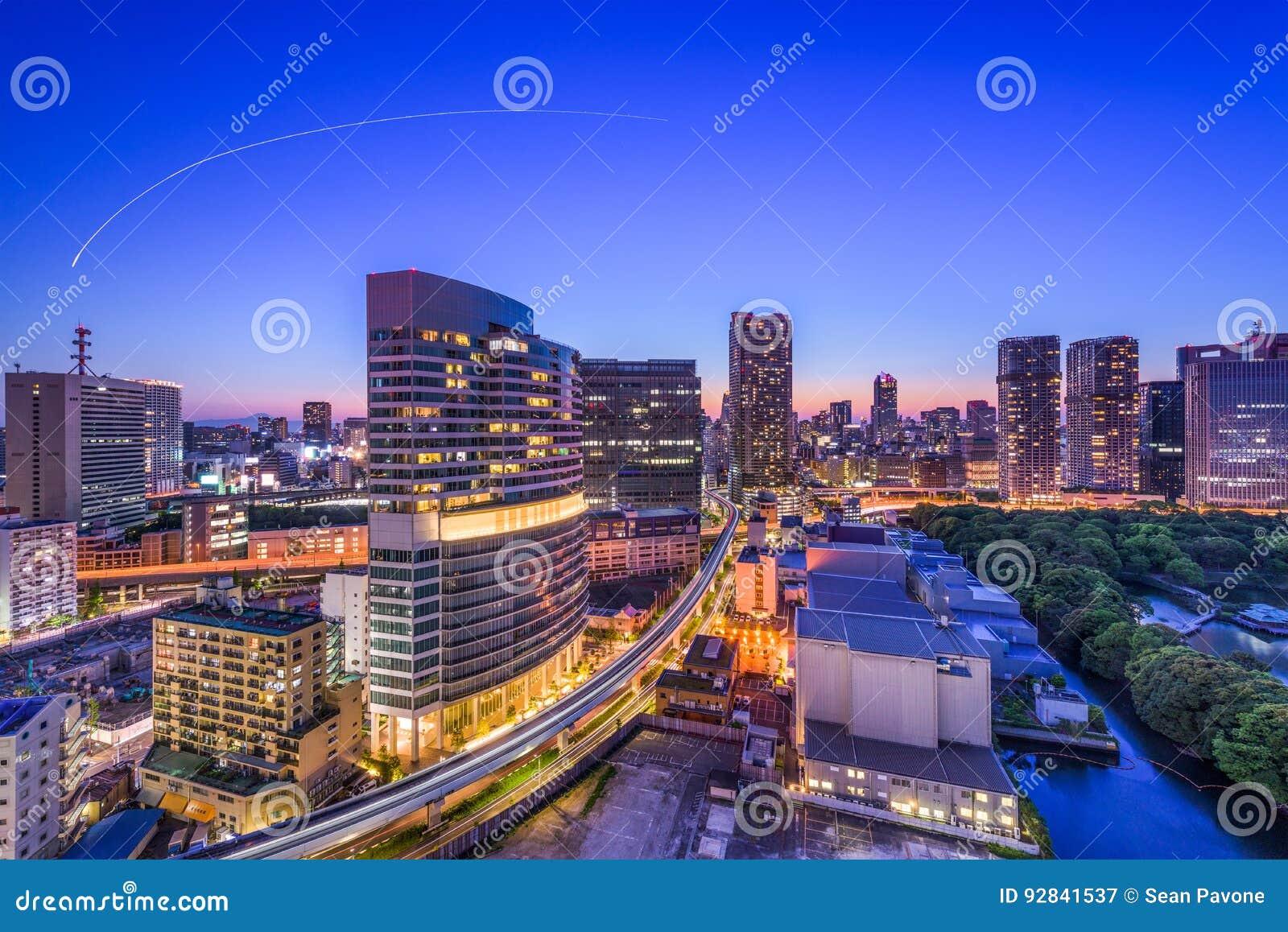 东京,日本都市风景