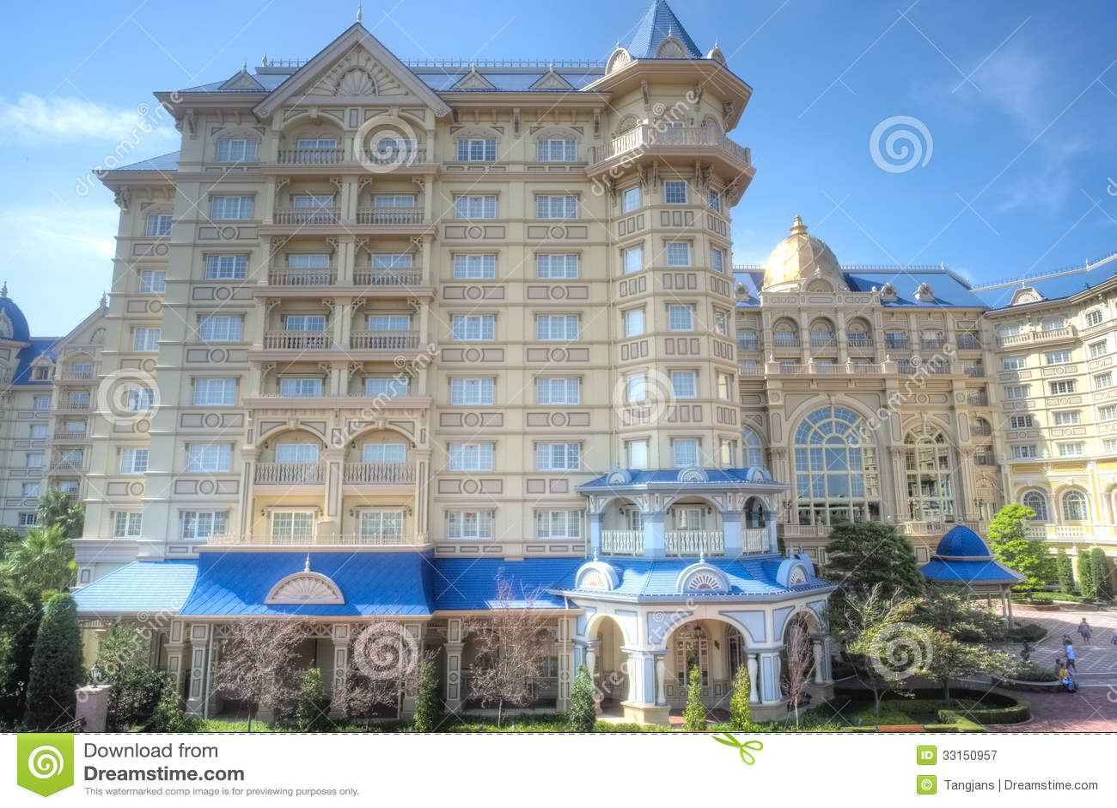 东京Disneysea旅馆