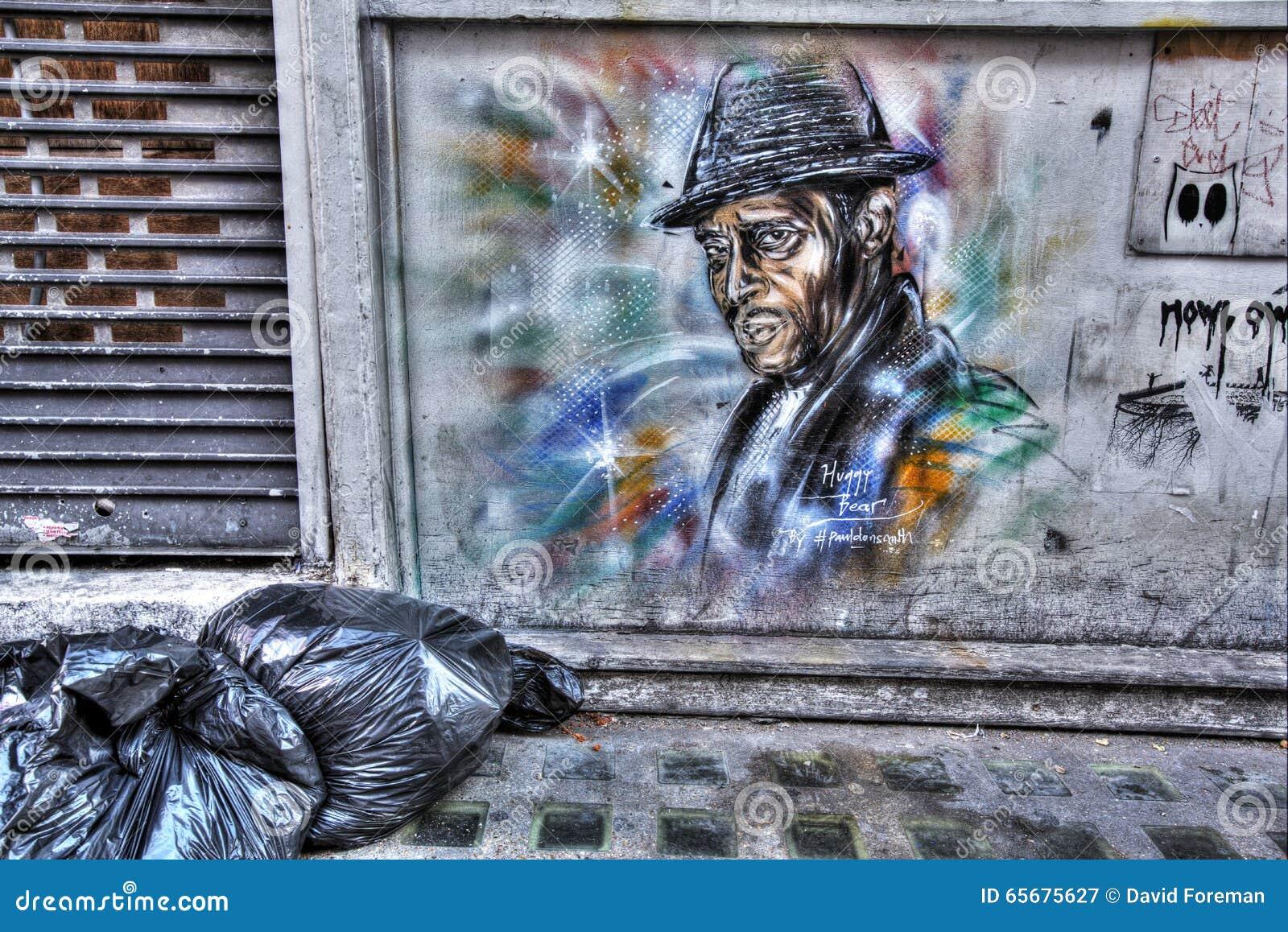 东伦敦街道画