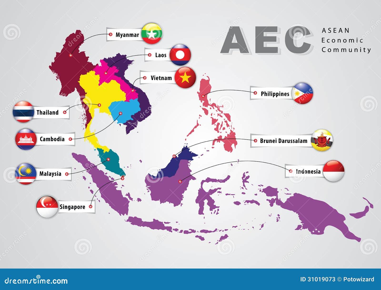 东南亚国家_东南亚国家联盟经济共同体, aec