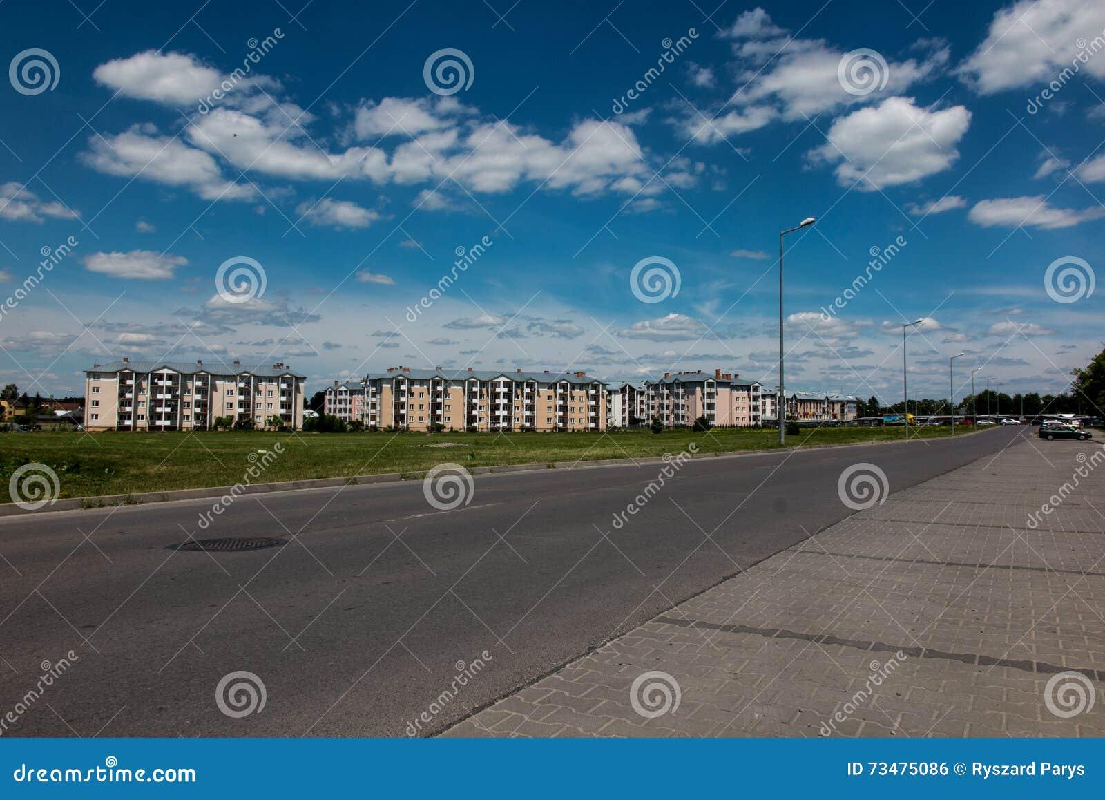 东波兰,市更新的解决的Chelm一