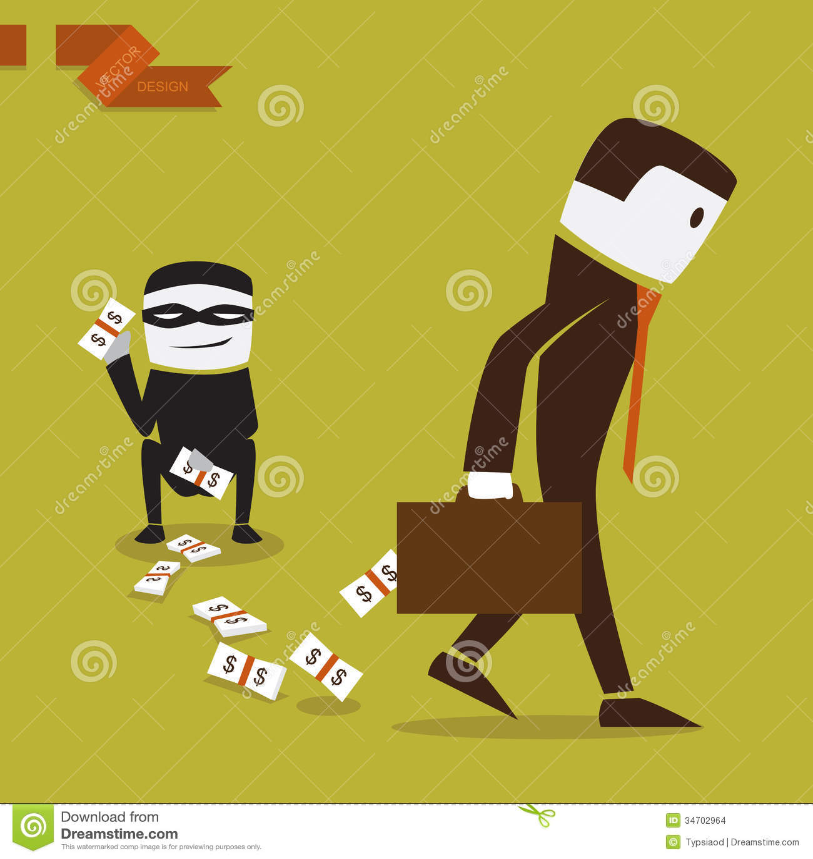 丢失在的钱investmen的商人。