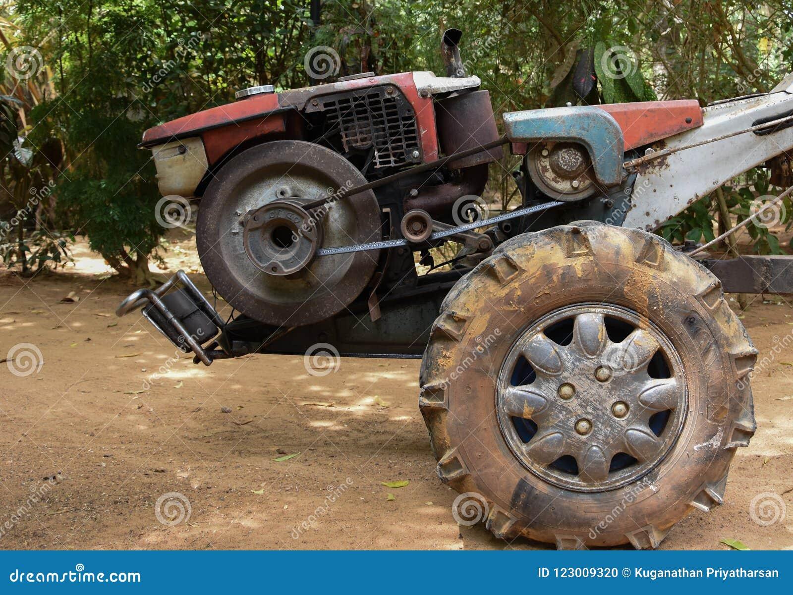 两轮子拖拉机