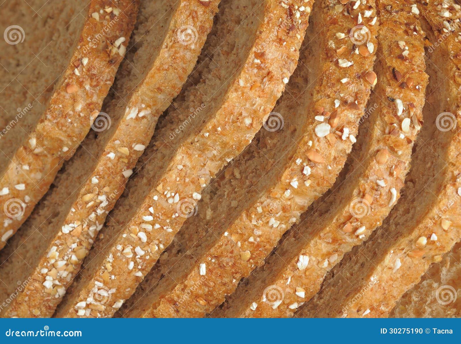 整个五谷面包