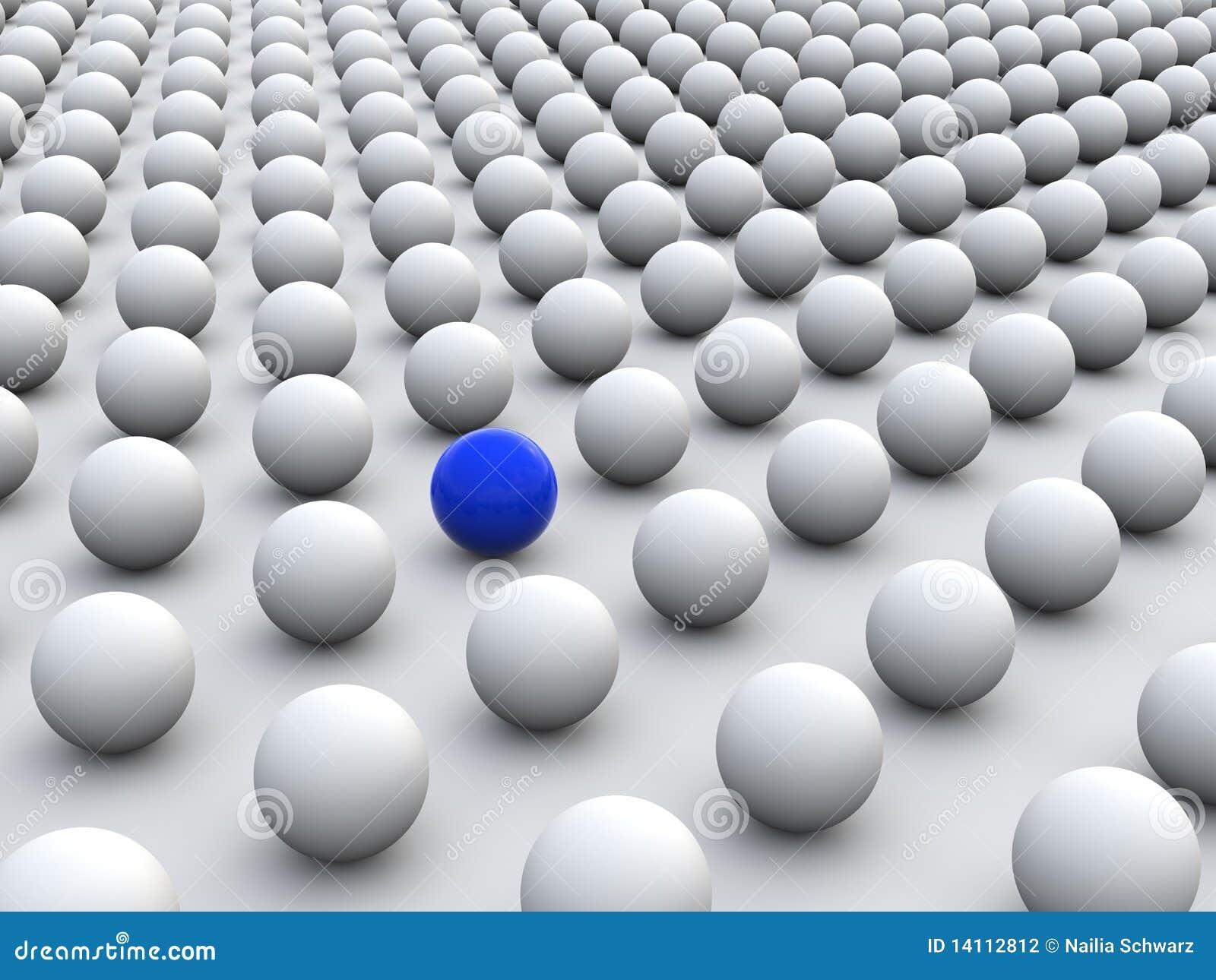 一个性色_表示灰色个人主义的五颜六色的概念人群的3d一个回报的范围常设唯一性